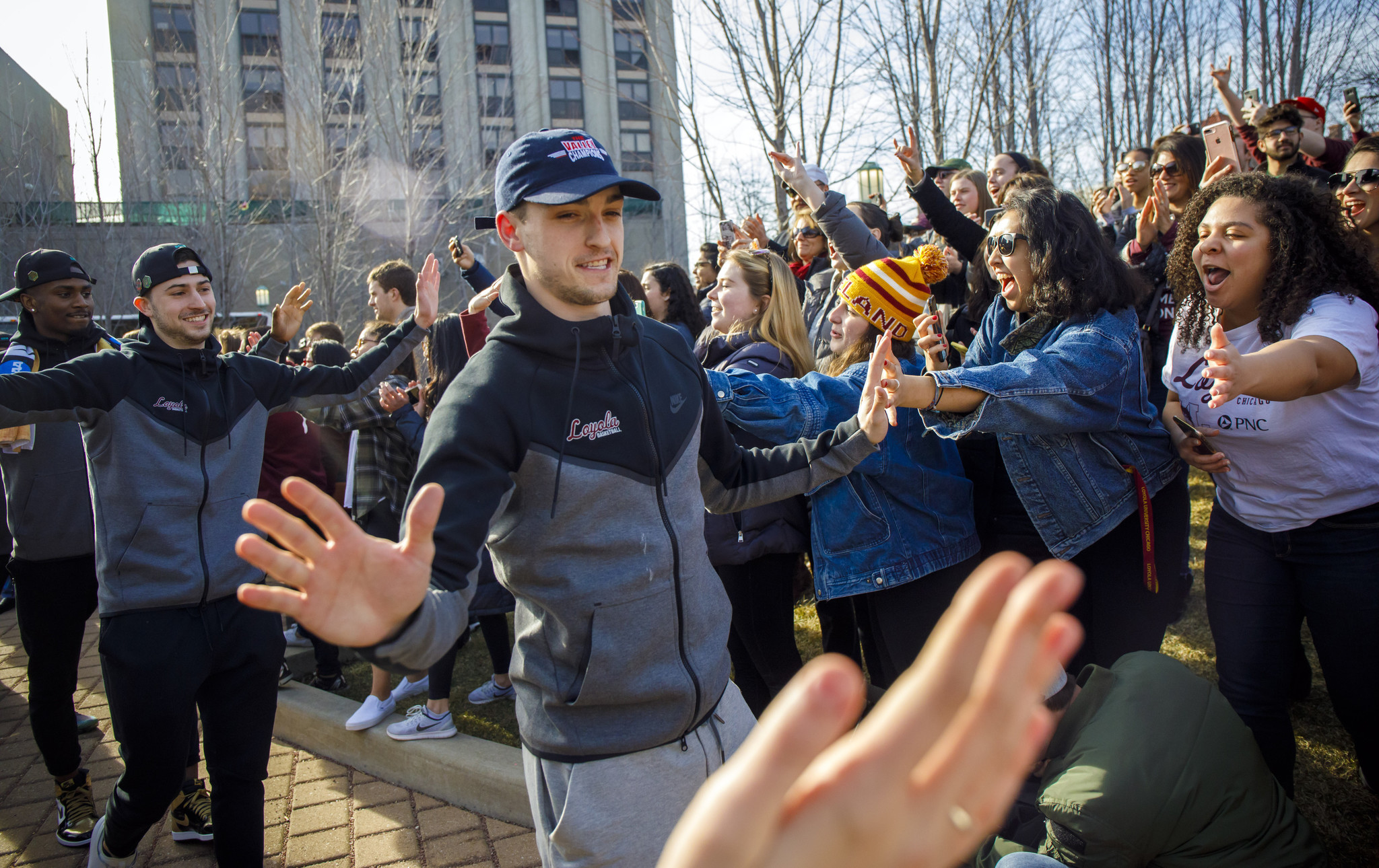 With NCAA success, Loyola now looks for gains off the court