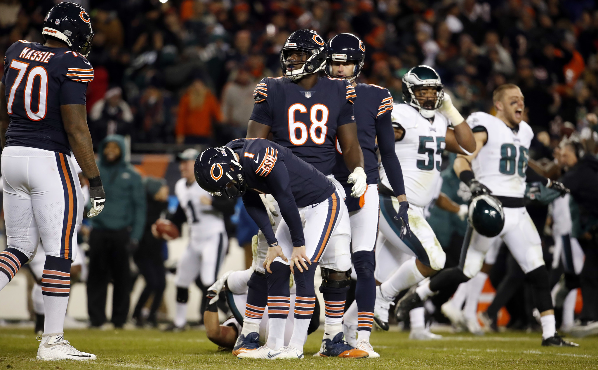 Football Is What I Do It S Not Who I Am 5 Things We Heard From Cody Parkey On His Today Show Appearance Chicago Tribune
