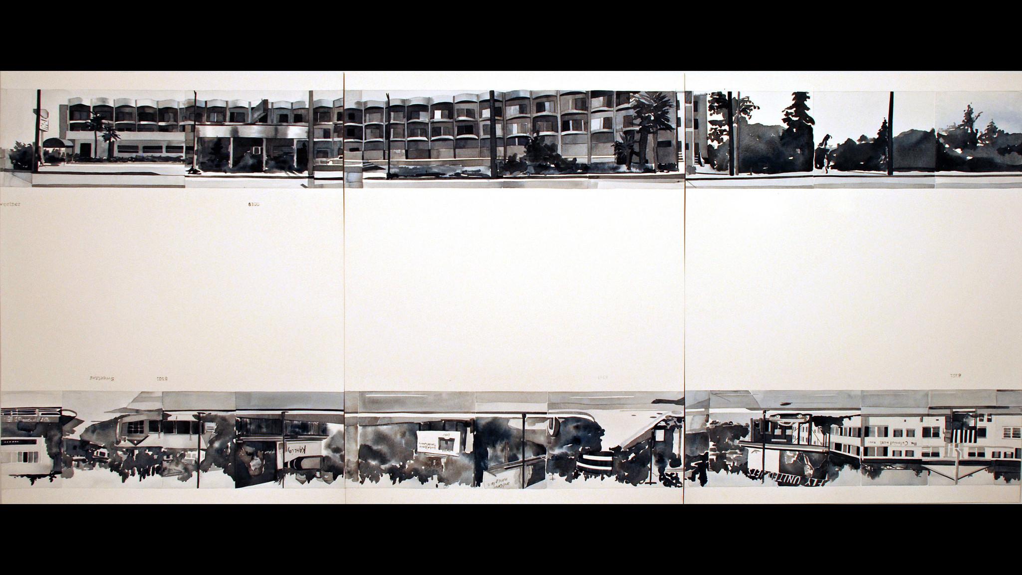 Datebook: An artist rethinks Ed Ruscha, paintings of domestic ...