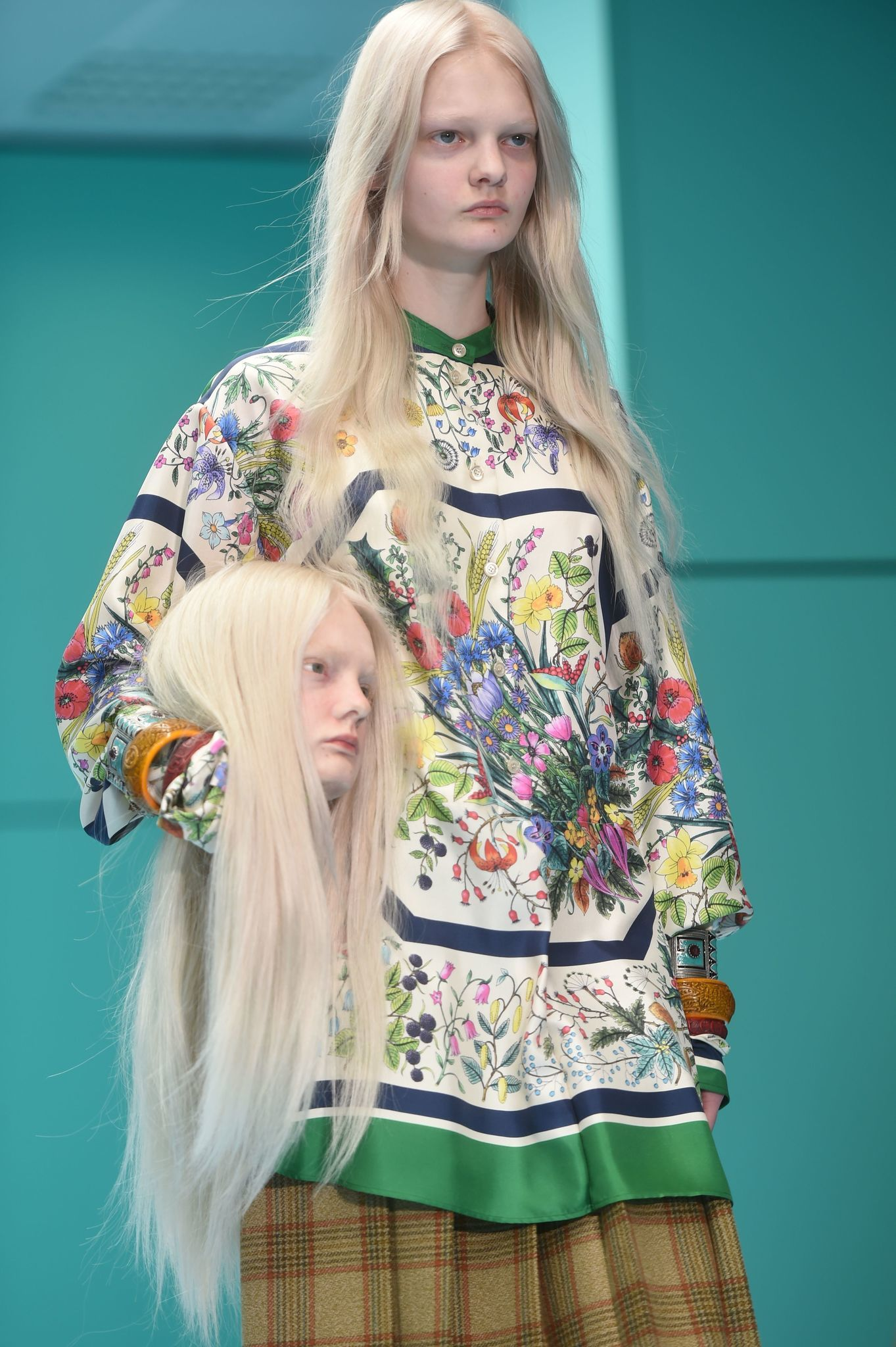 db209c433 Severed heads and baby dragons? Gucci gets weird at Milan Fashion Week -  Chicago Tribune