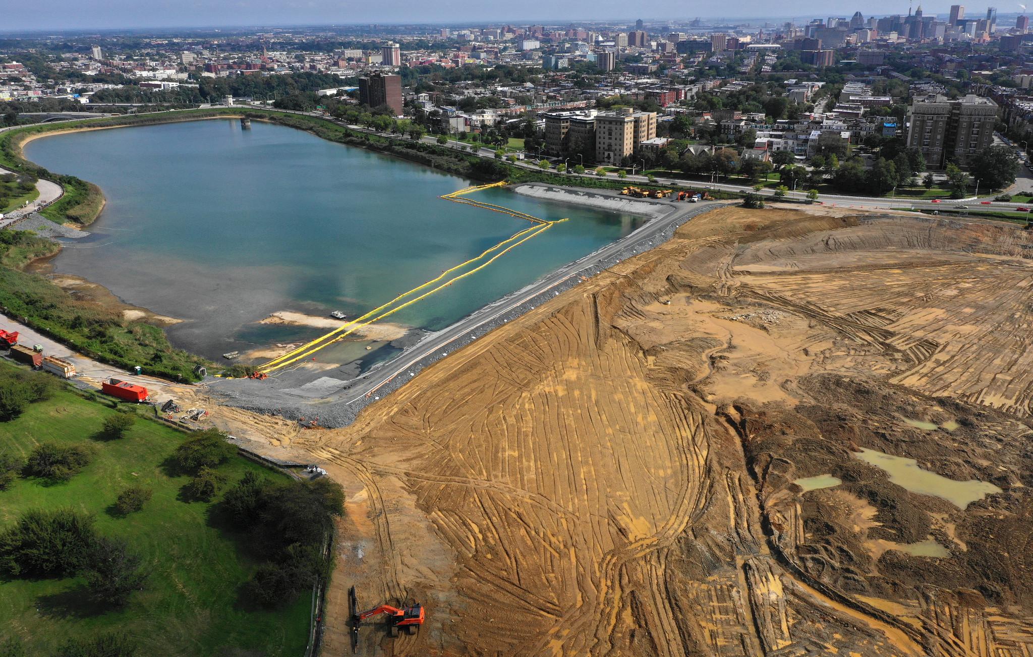 Remaking Baltimore's Druid Lake: $140 million water project