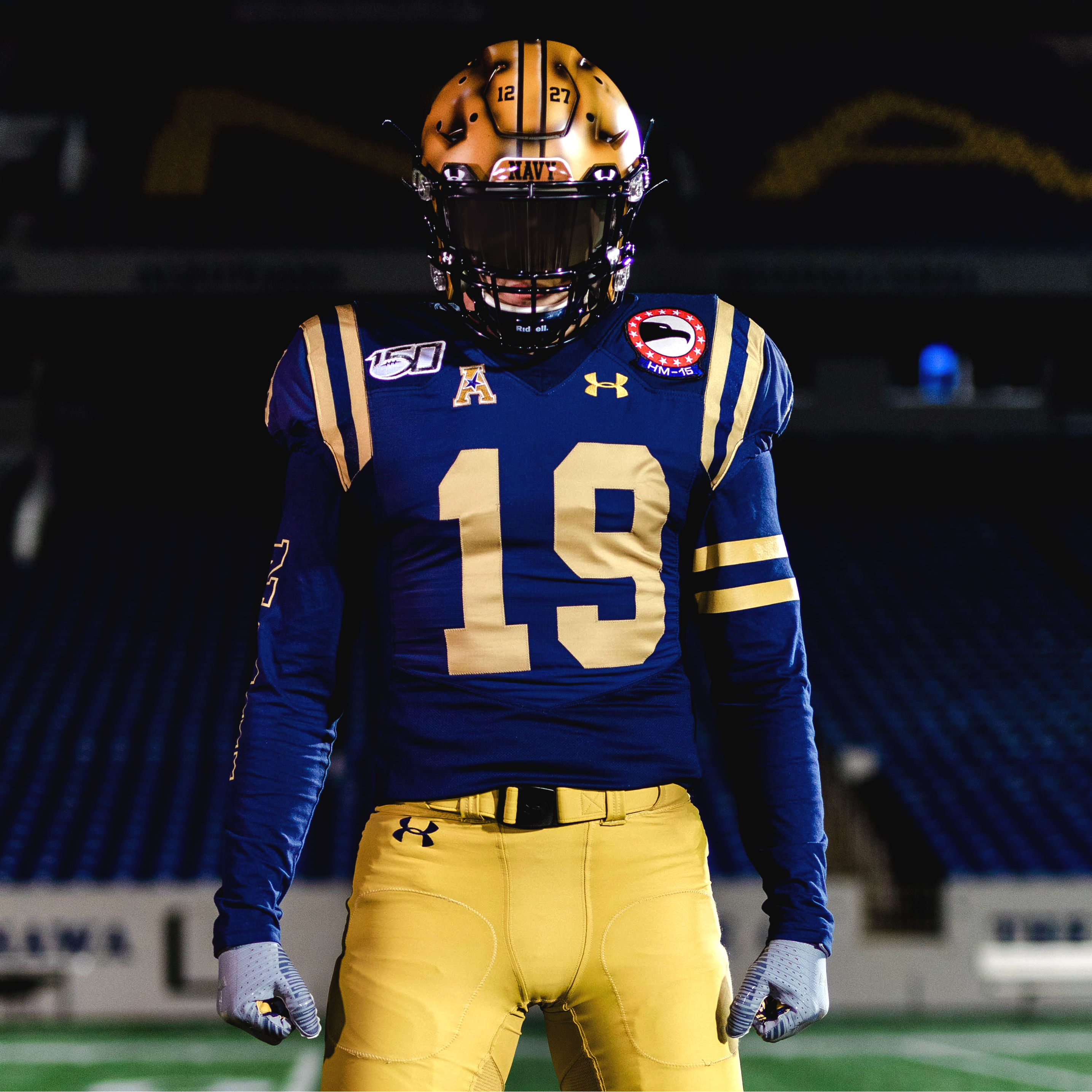 Under Armour unveils throwback uniforms for Army-Navy game ...