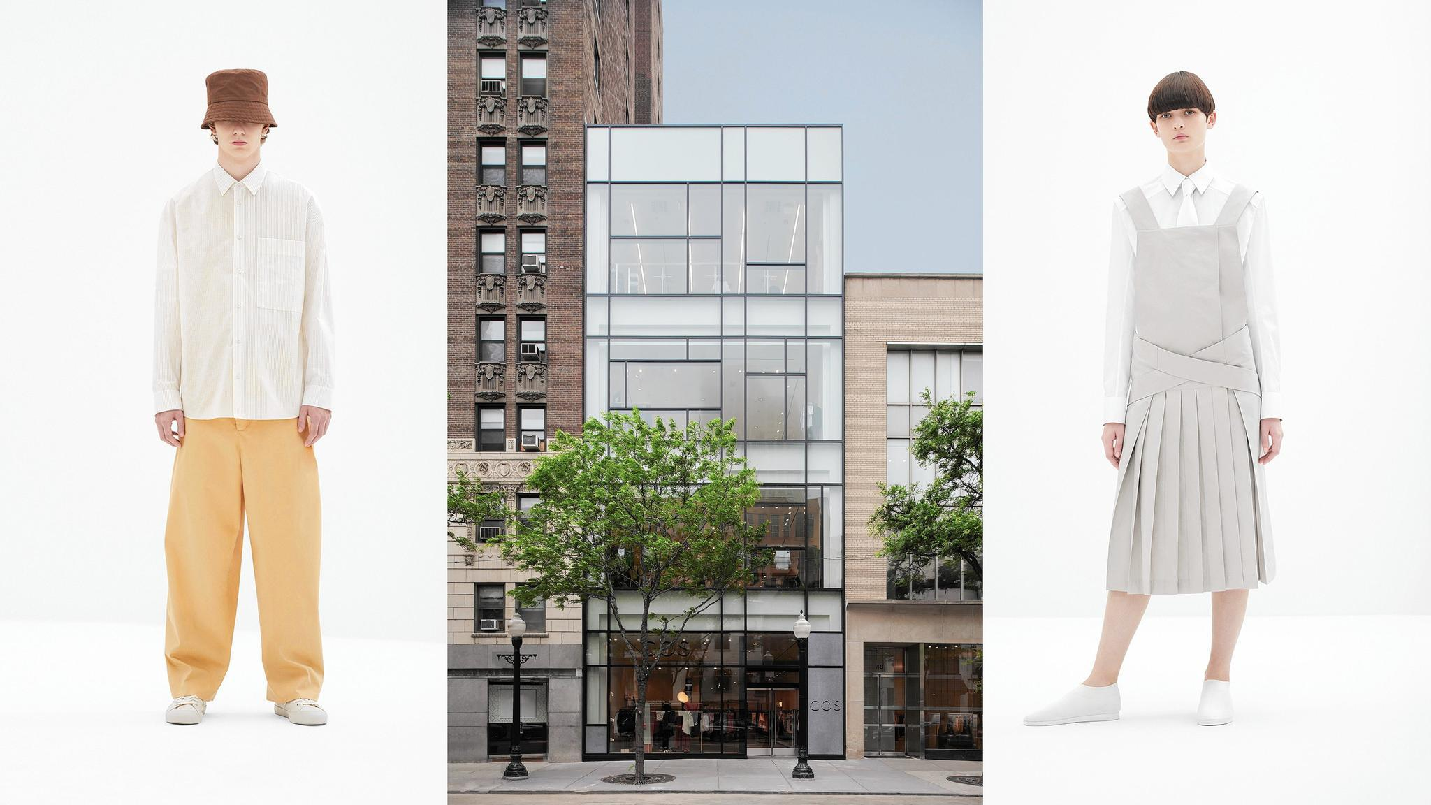 Cos Opens Mega Store On Oak Street Bringing Chic Affordable Style Chicago Tribune
