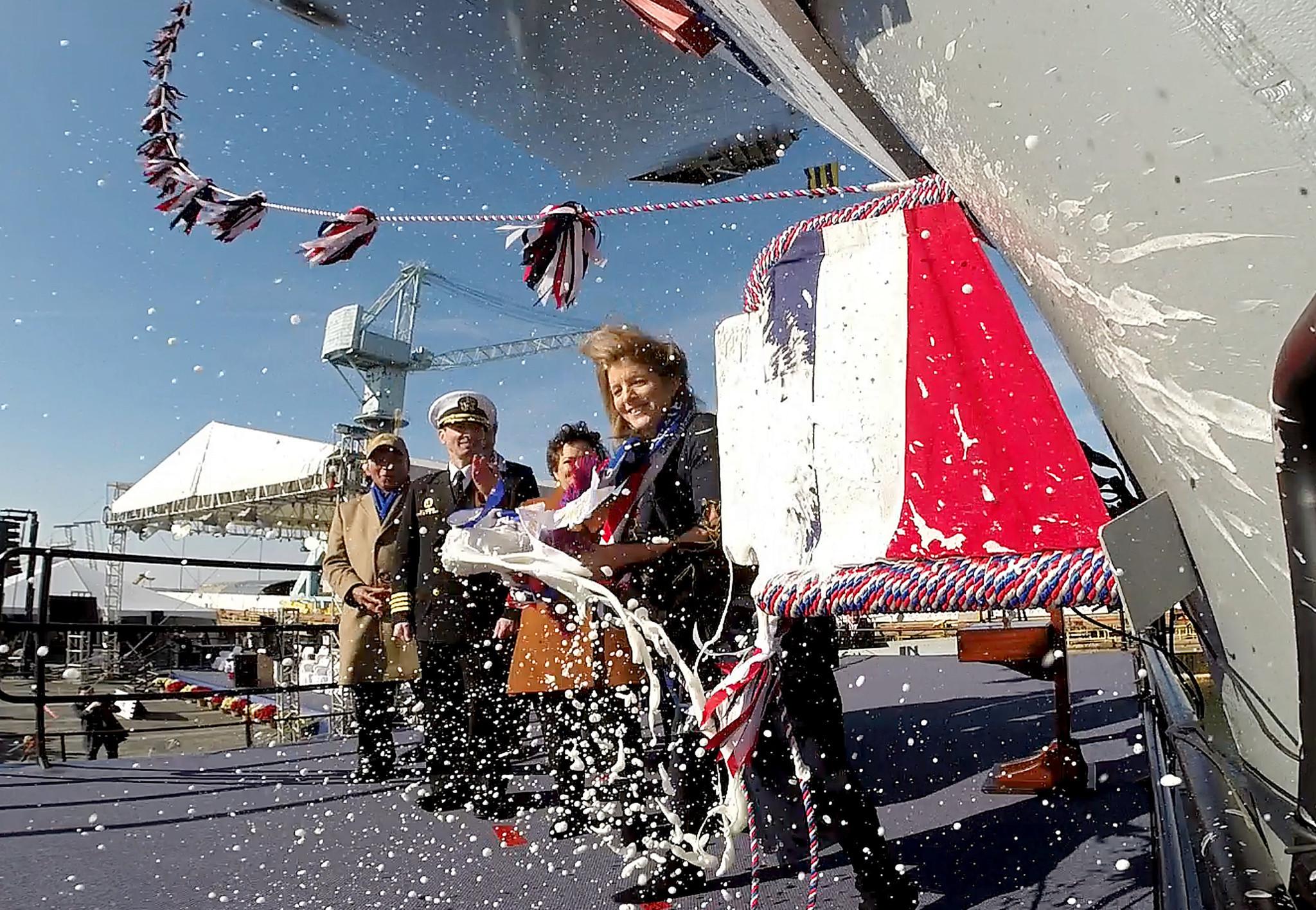 John F Kennedy Era Presidential Yacht Playing Card