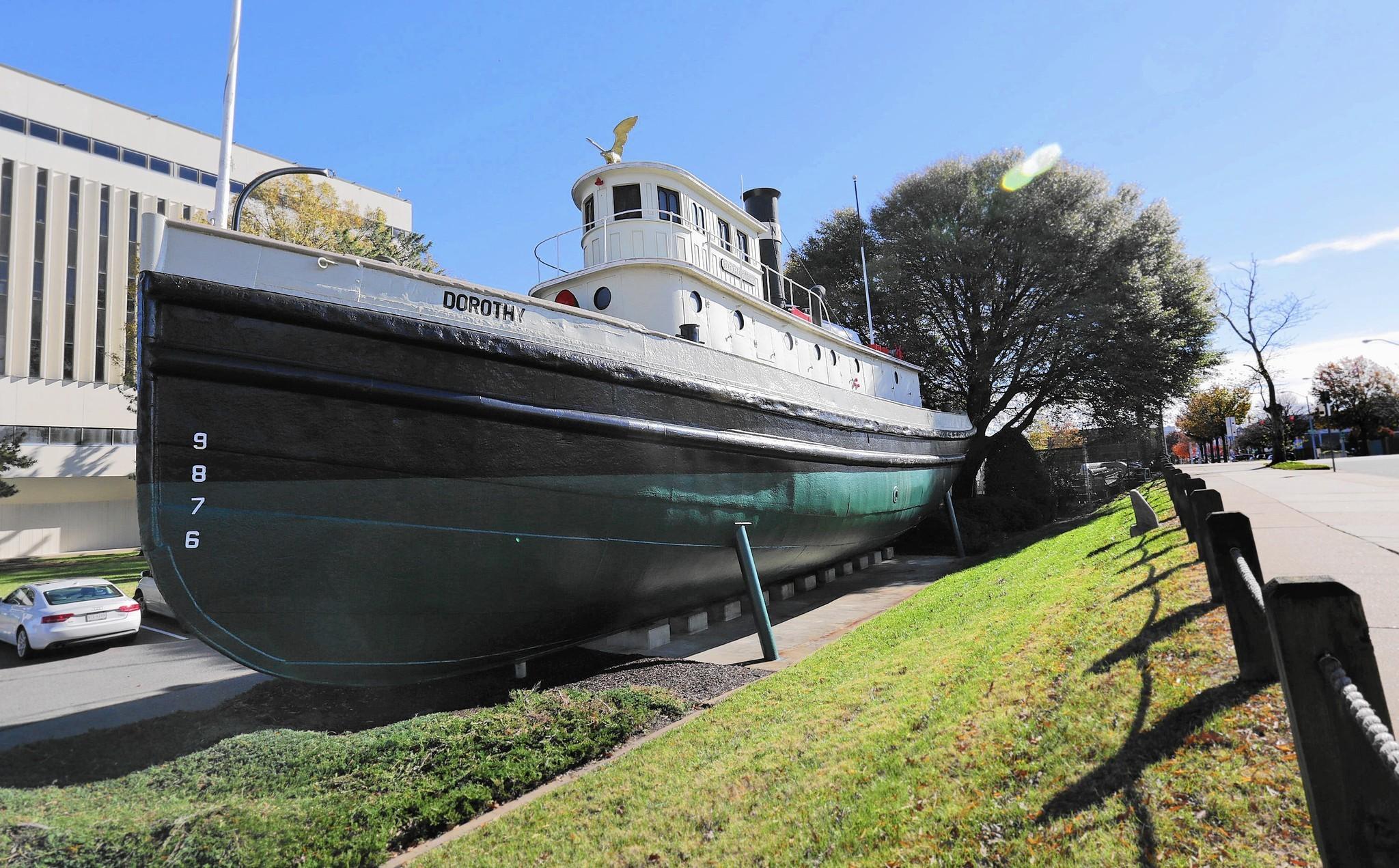 Tugboat Dorothy heralded new age at Newport News
