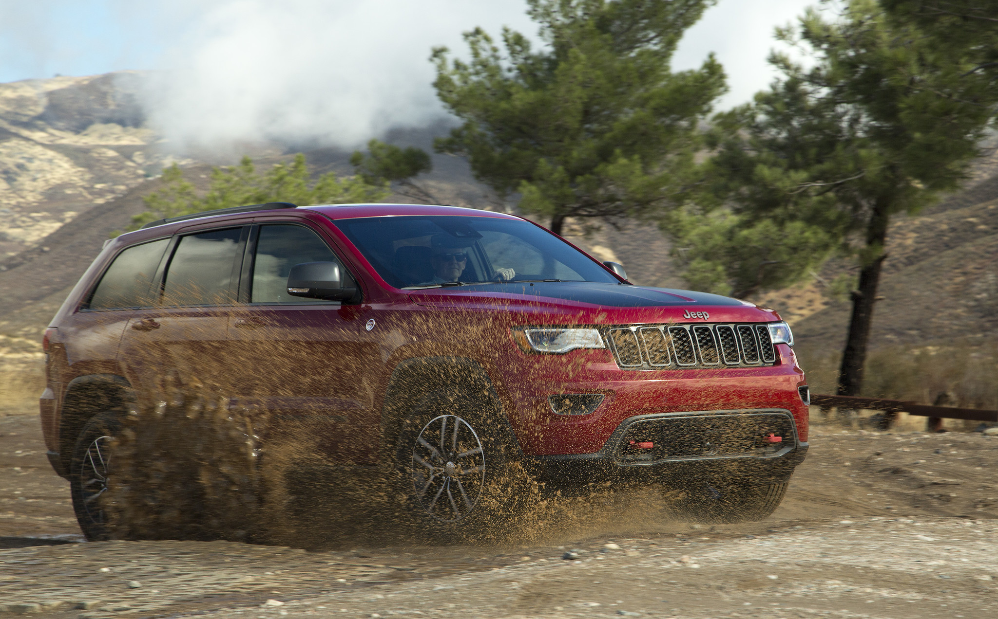 Puddle jumper 2017 Jeep Grand Cherokee Trailhawk