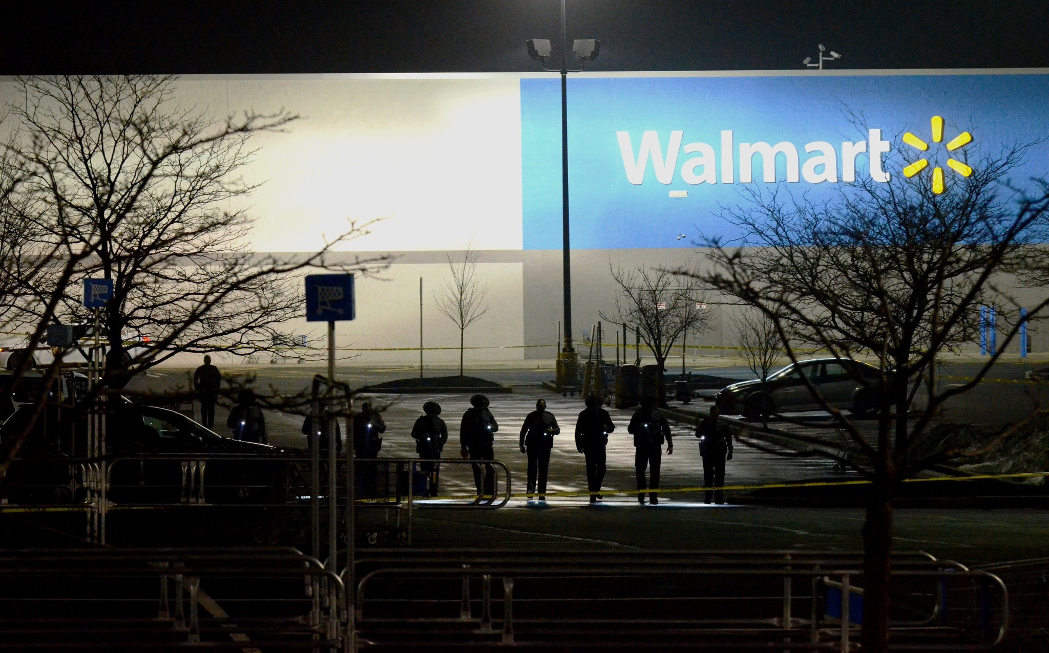 Man dead after 'officer-involved shooting' outside Walmart