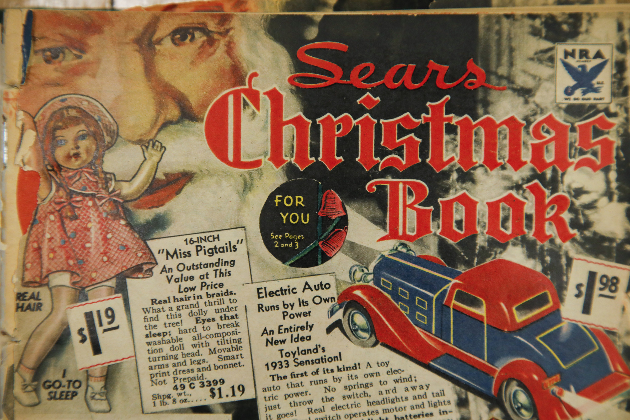 Sears Christmas Catalog.Unsung The Sears Wish Book A Ghost Of Christmas Past