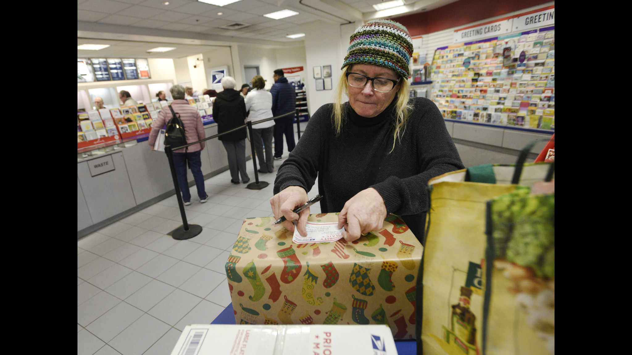 Westminster Post Office continues holiday hustle as