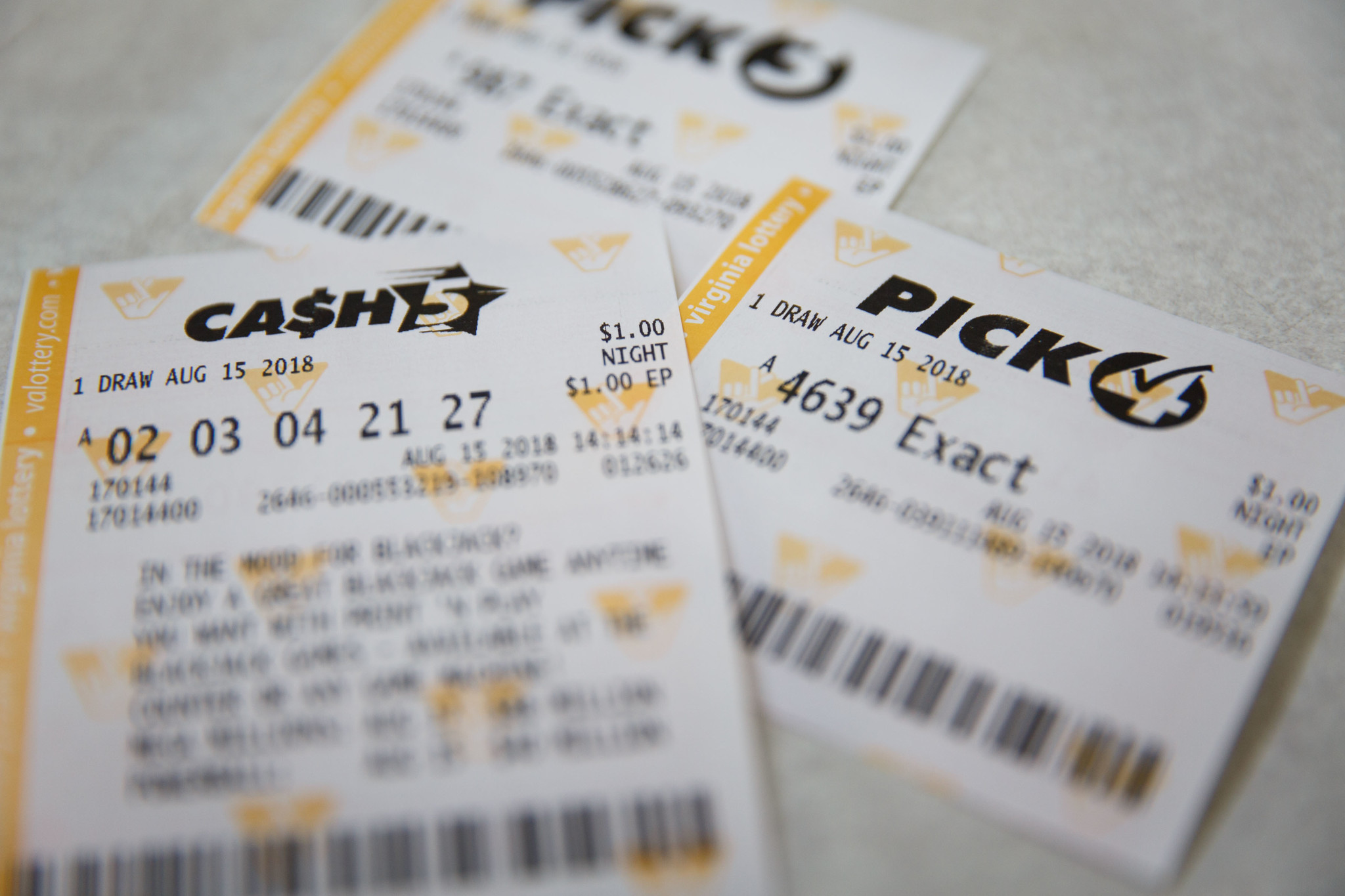 Virginia Lottery has opened investigations into 3 of state's