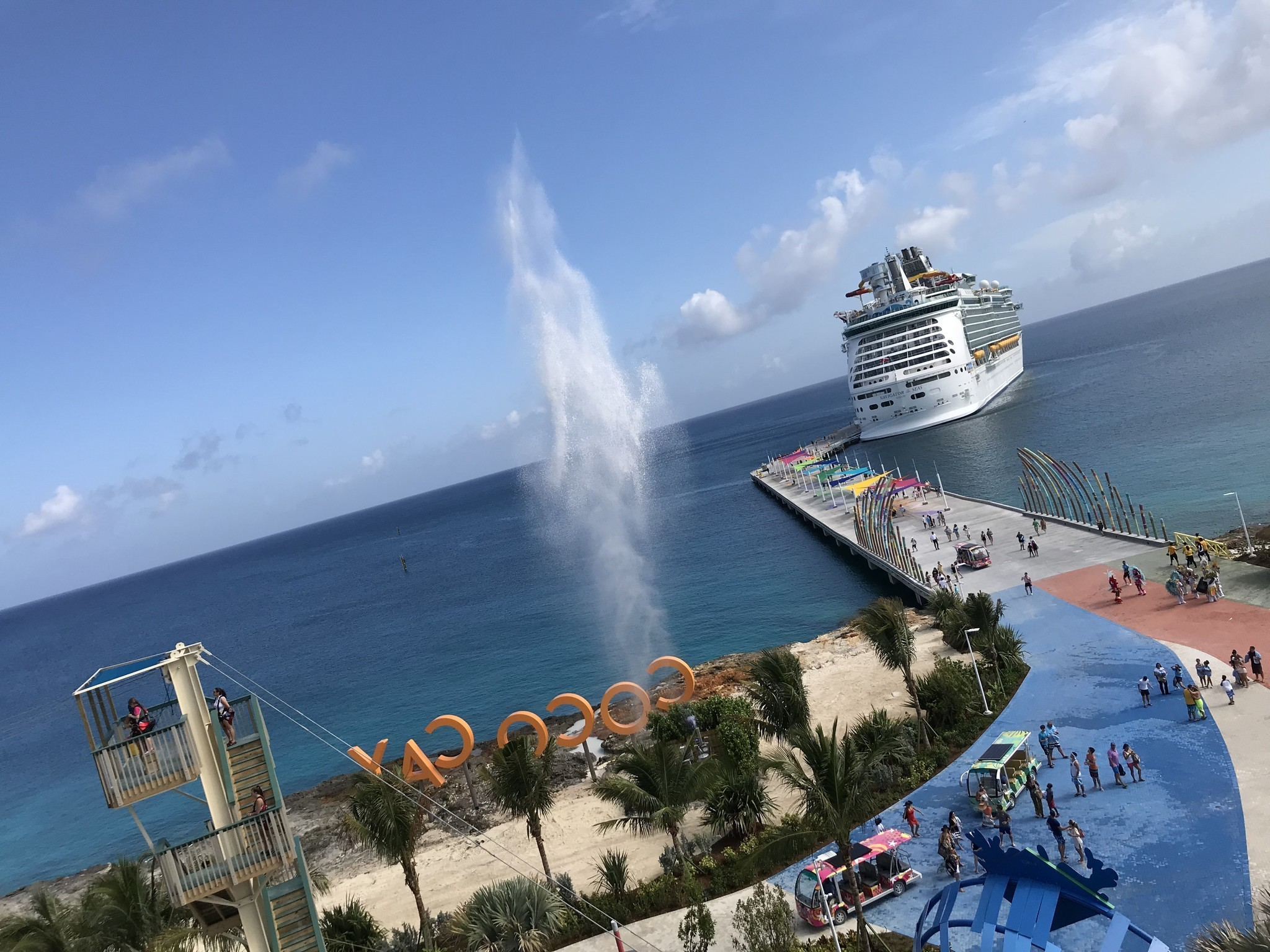 CocoCay, Royal Caribbean's private island, getting $200 million