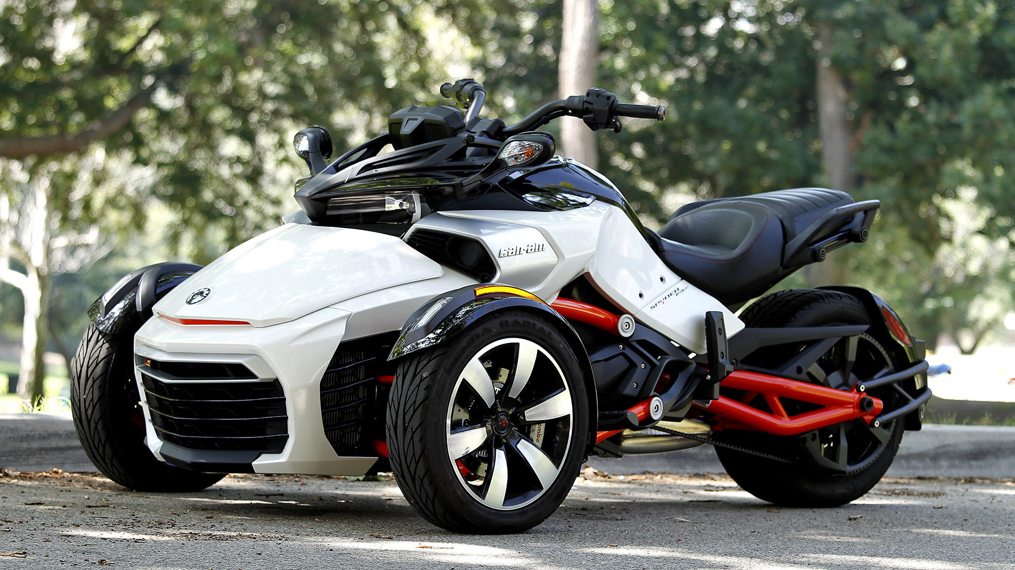 Can Am Spyder review Newbies may dig it serious bikers not so much