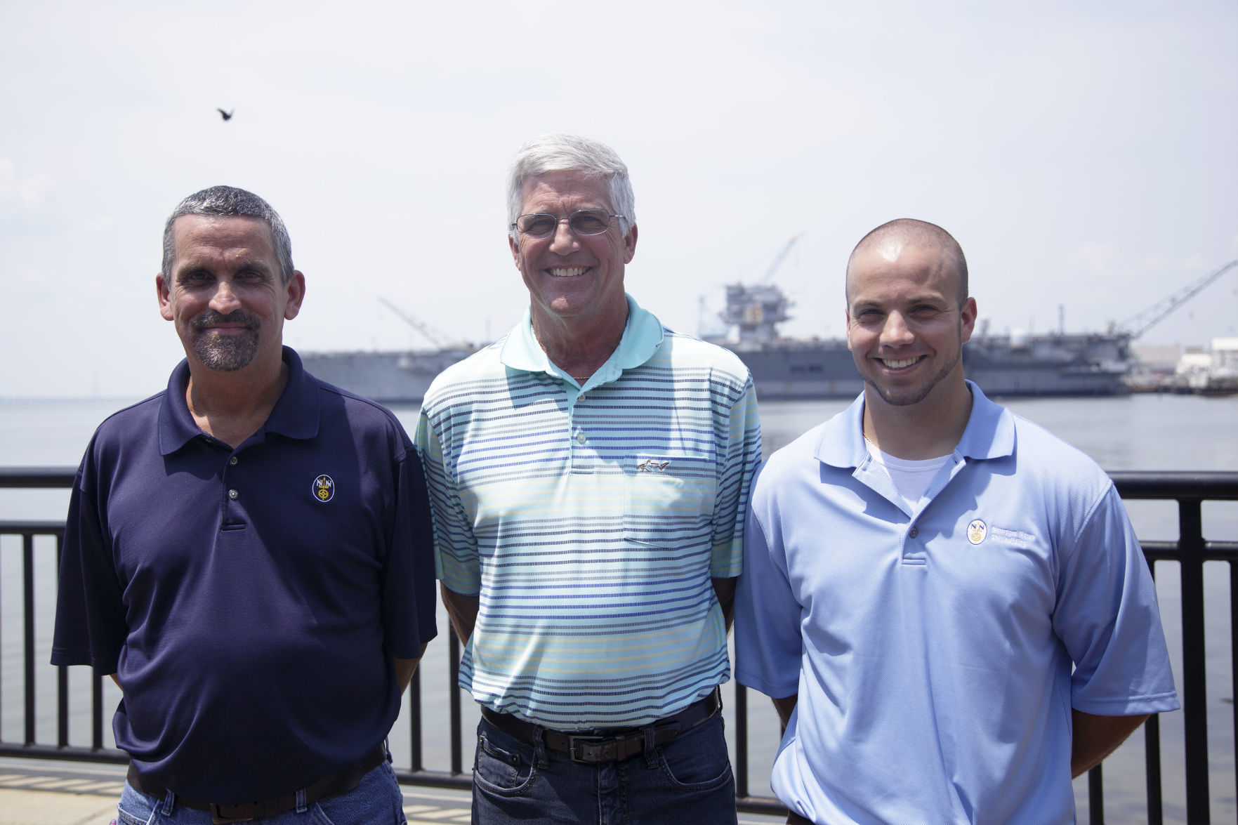 At Newport News Shipbuilding, 4 generations of the Sweeney