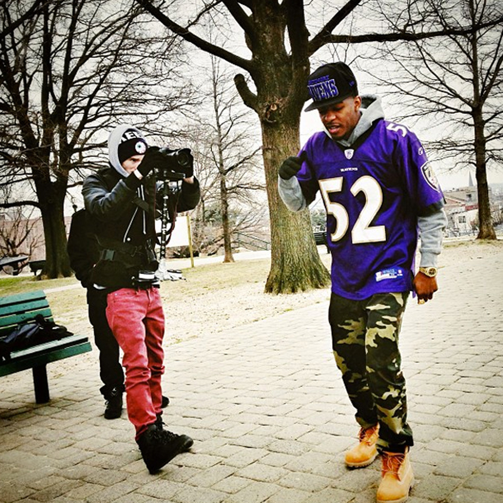 Baltimore rapper King Los has channeled his Ravens love into a team anthem.