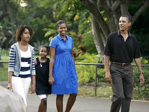 Obama Family 2010