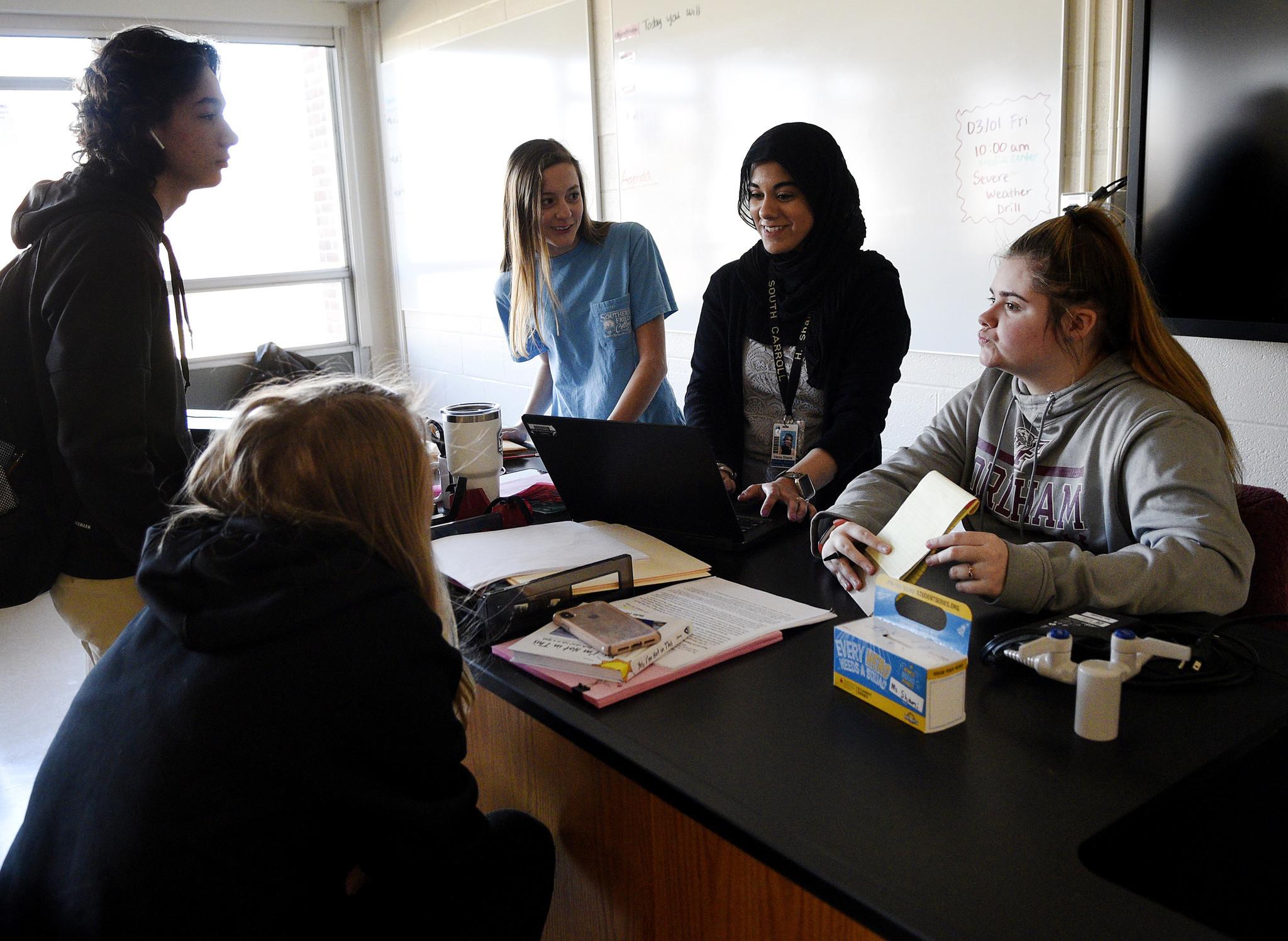 Muslim teacher bridges gap to share culture and diversity at
