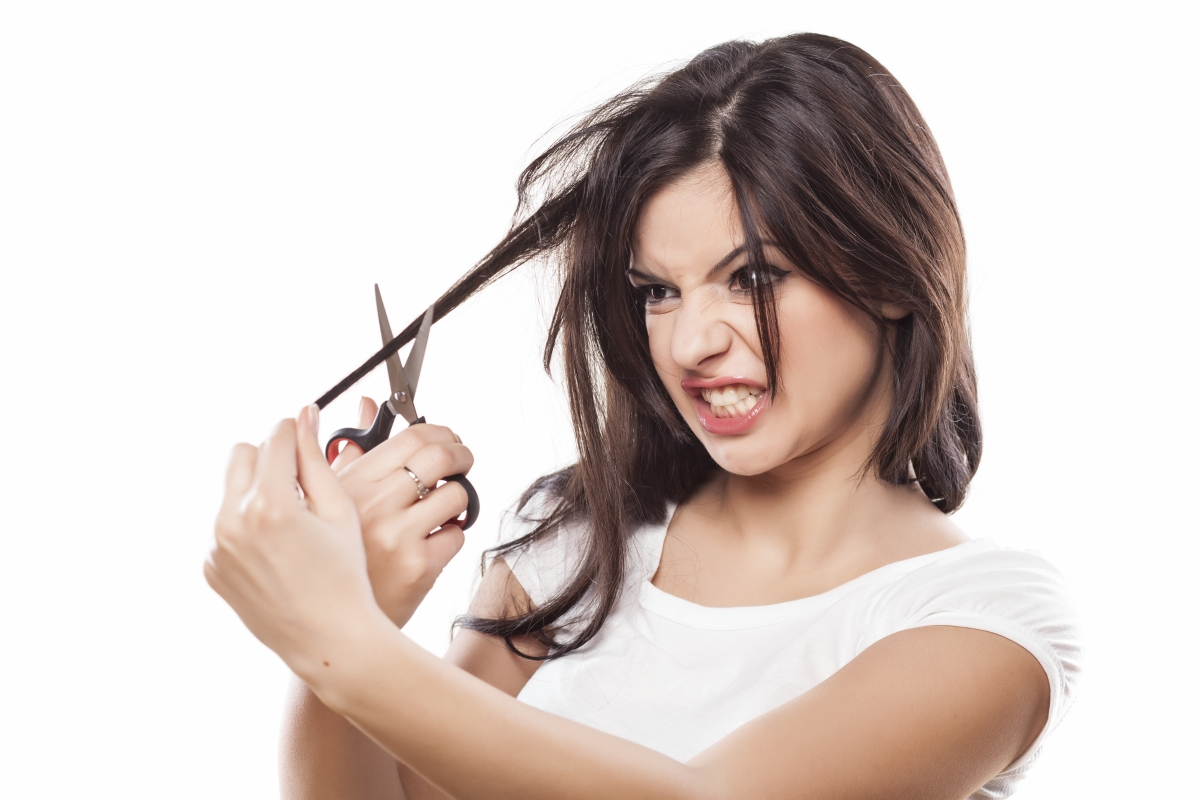 If Youre Tempted To Cut Your Own Hair Be Sure To Follow Our
