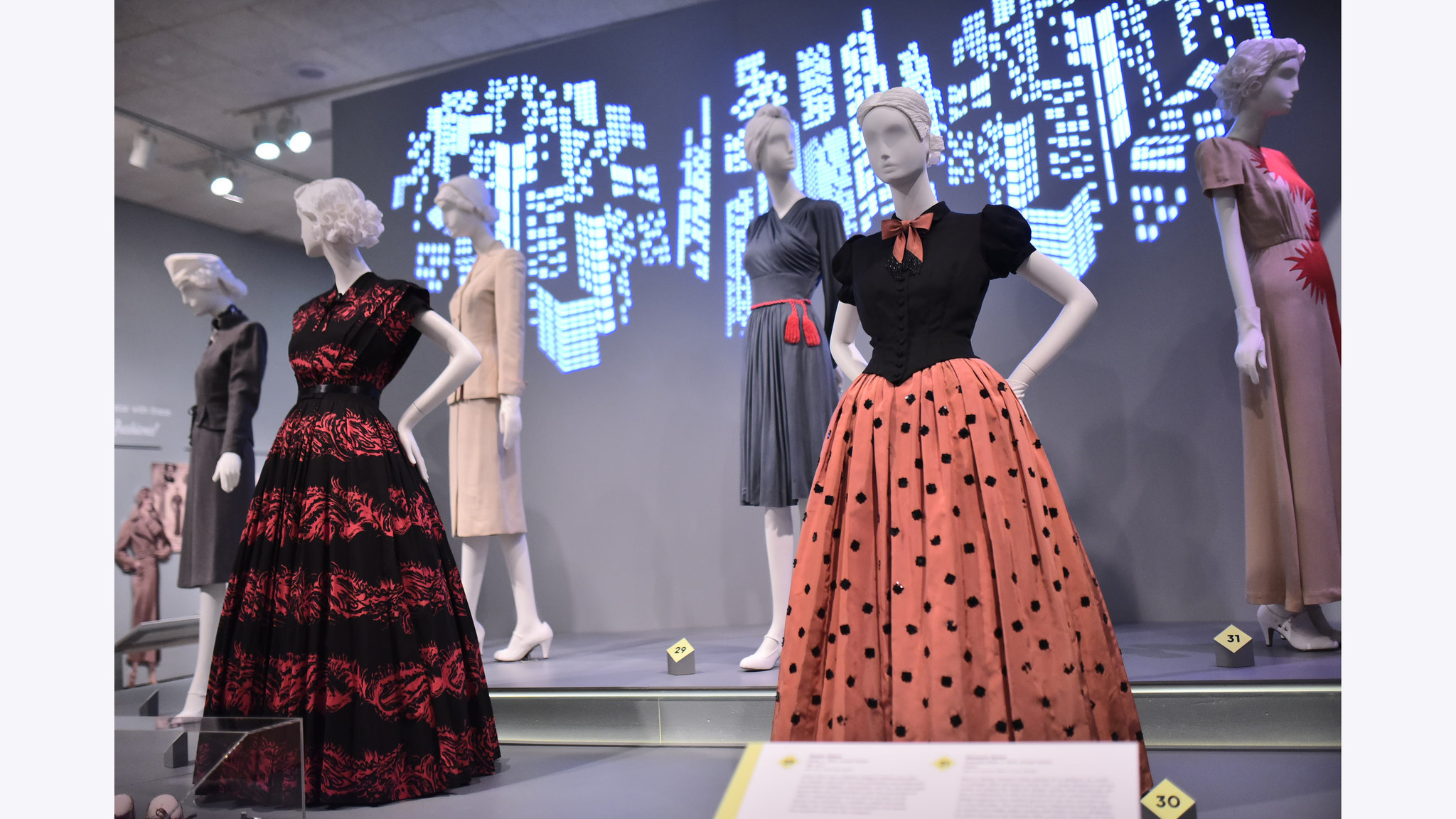 The First Influencers New Exhibit Showcases Chicago S Mark On 1930s And 40s Fashion Chicago Tribune