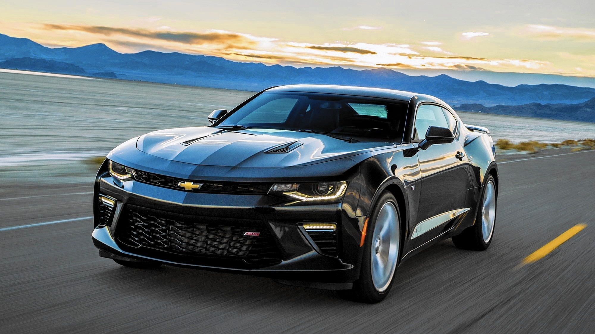 2016 Chevrolet Camaro turns up the heat during a drive to Death Valley
