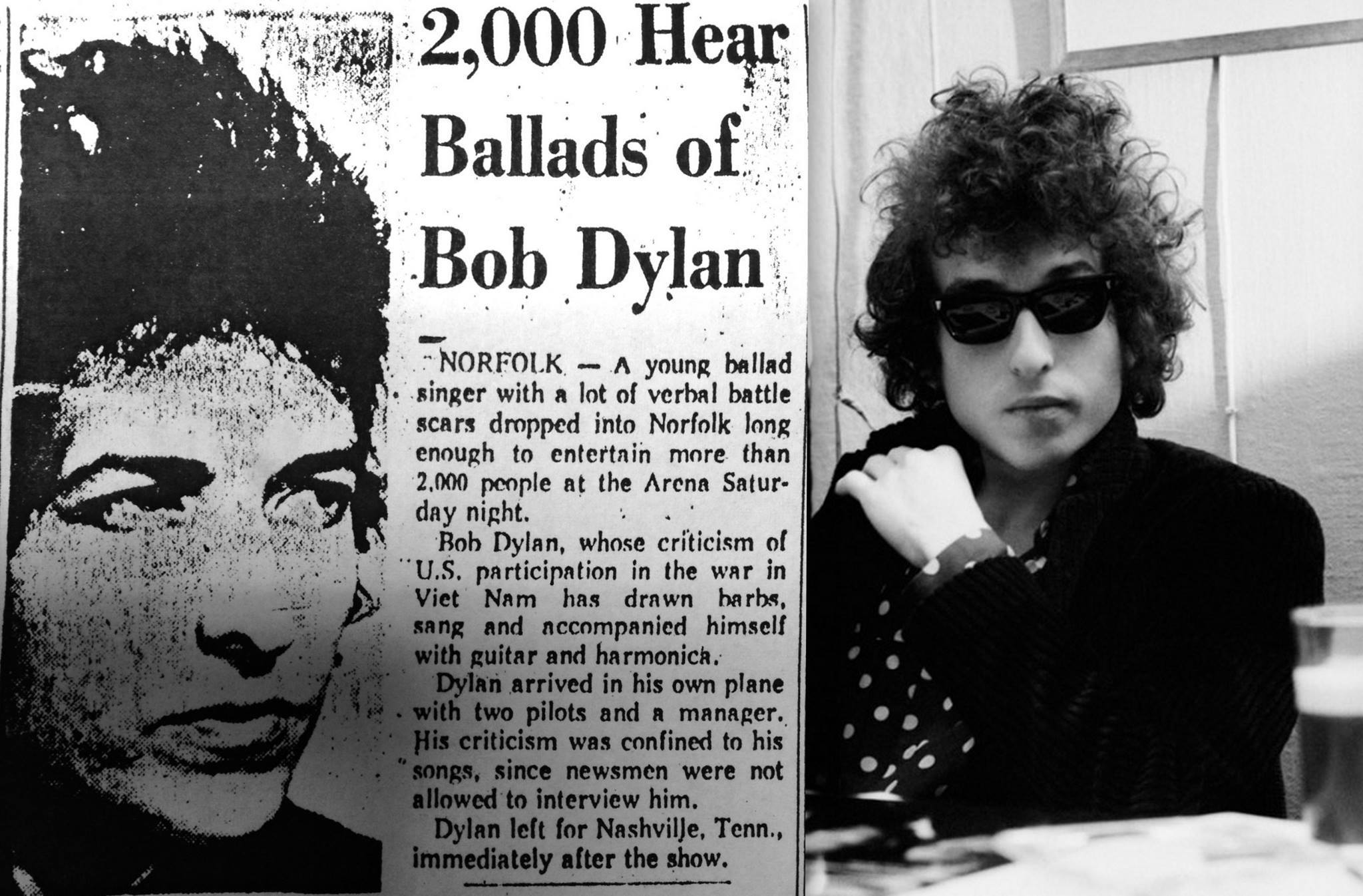 Years of Bob Dylan blowin' through Hampton Roads - The