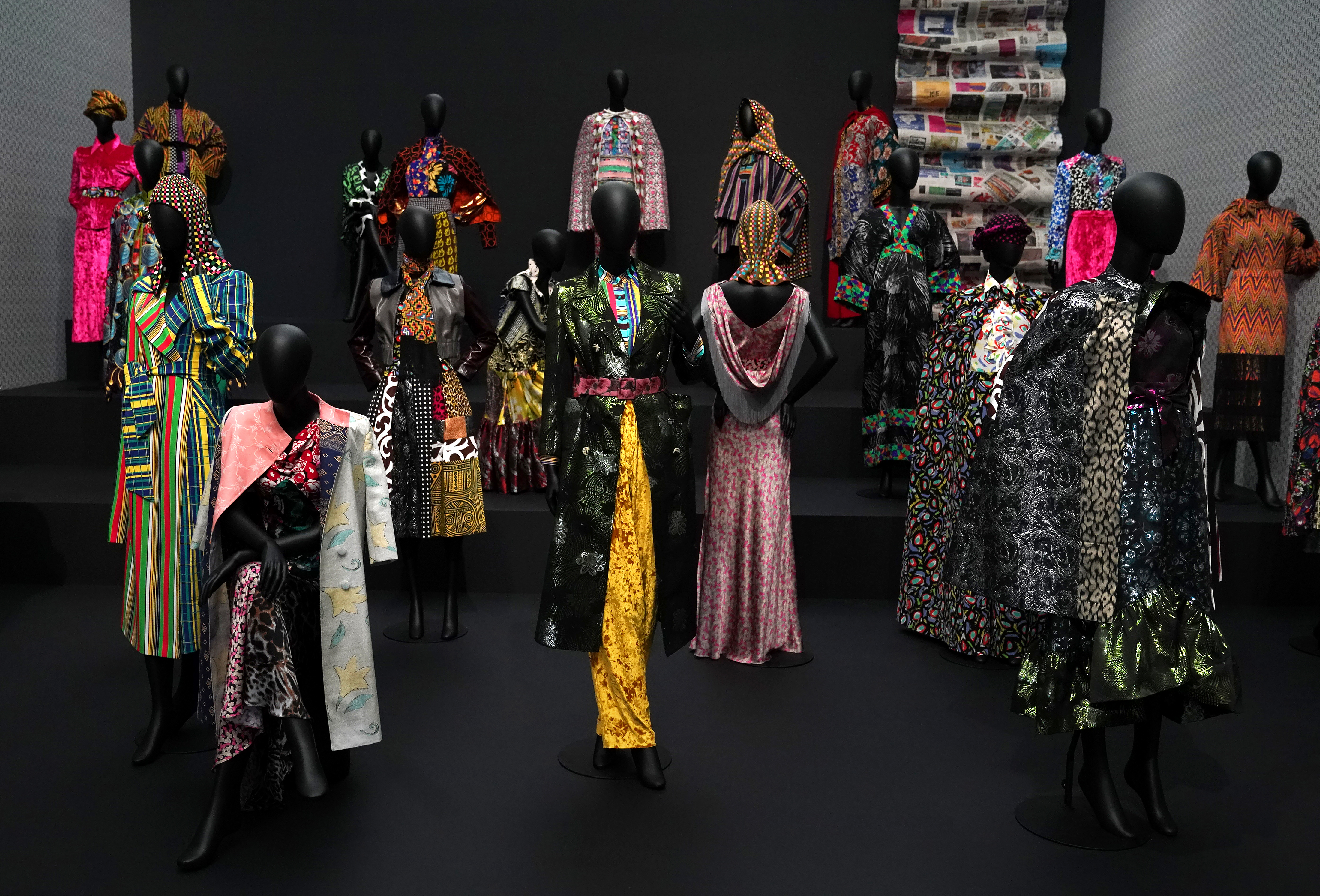 Duro Olowu Show At The Mca Inspired By Chicago Chicago Tribune