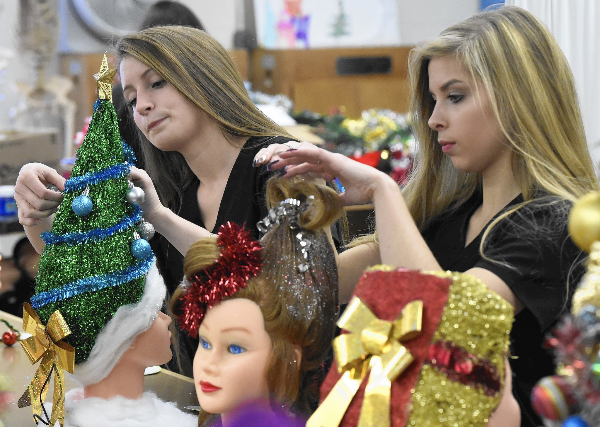 For Whoville hairdo assignment, students create Seuss