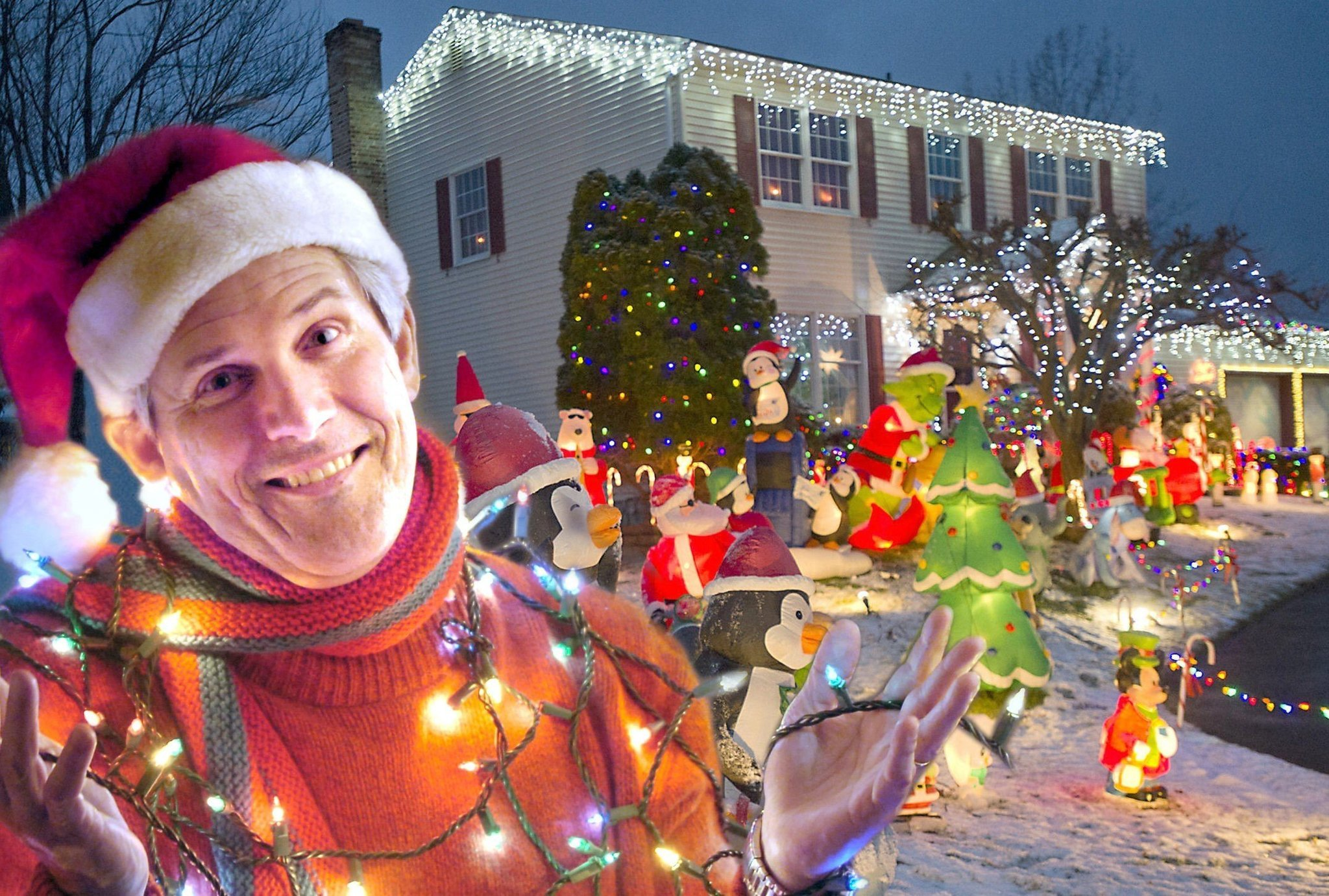 How Long Do Christmas Lights Last.Why Bill White S 25th Christmas Lights Tour Turned Out To Be