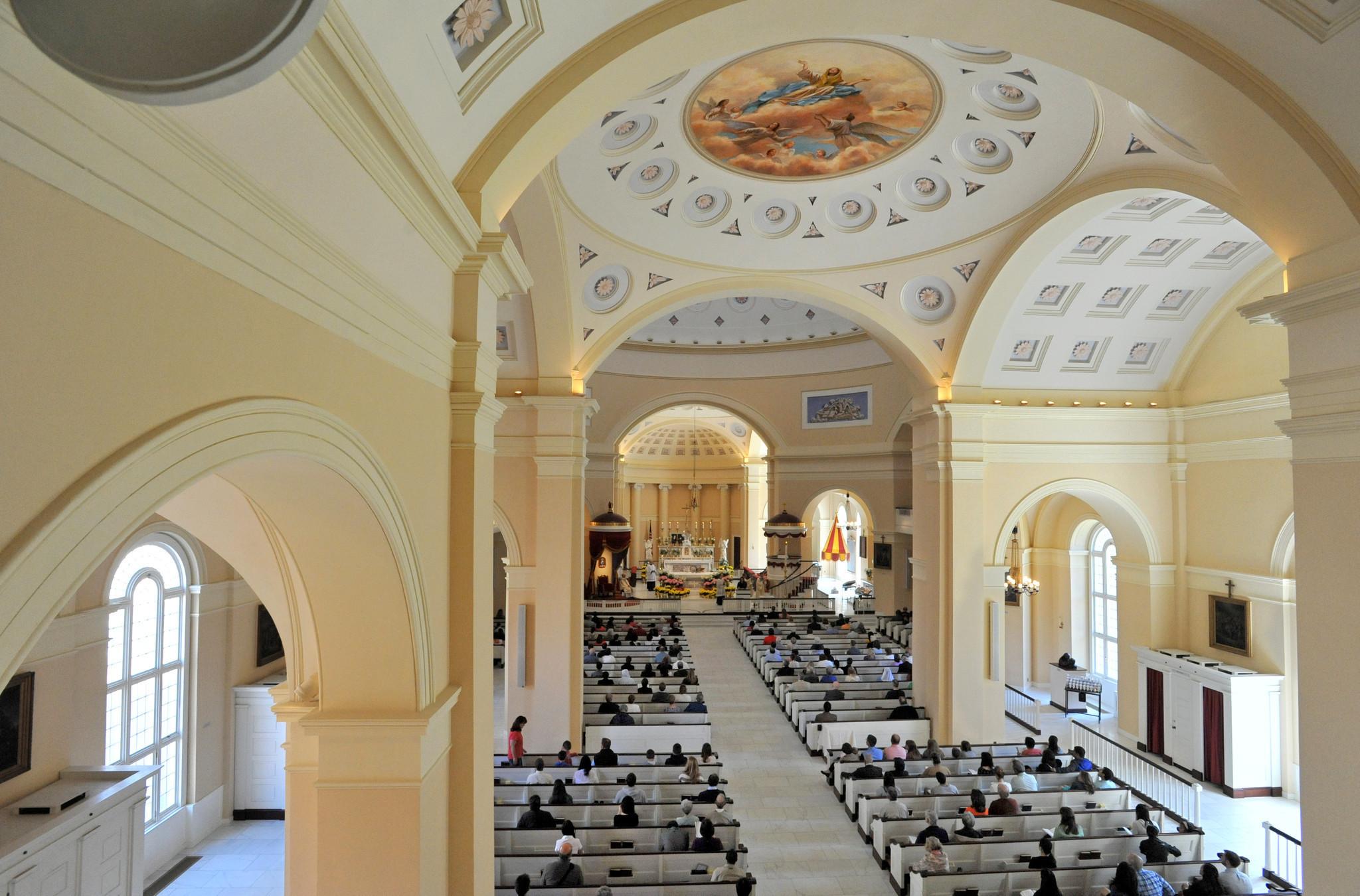 At St  Alphonsus Ligouri in Baltimore, believers find new