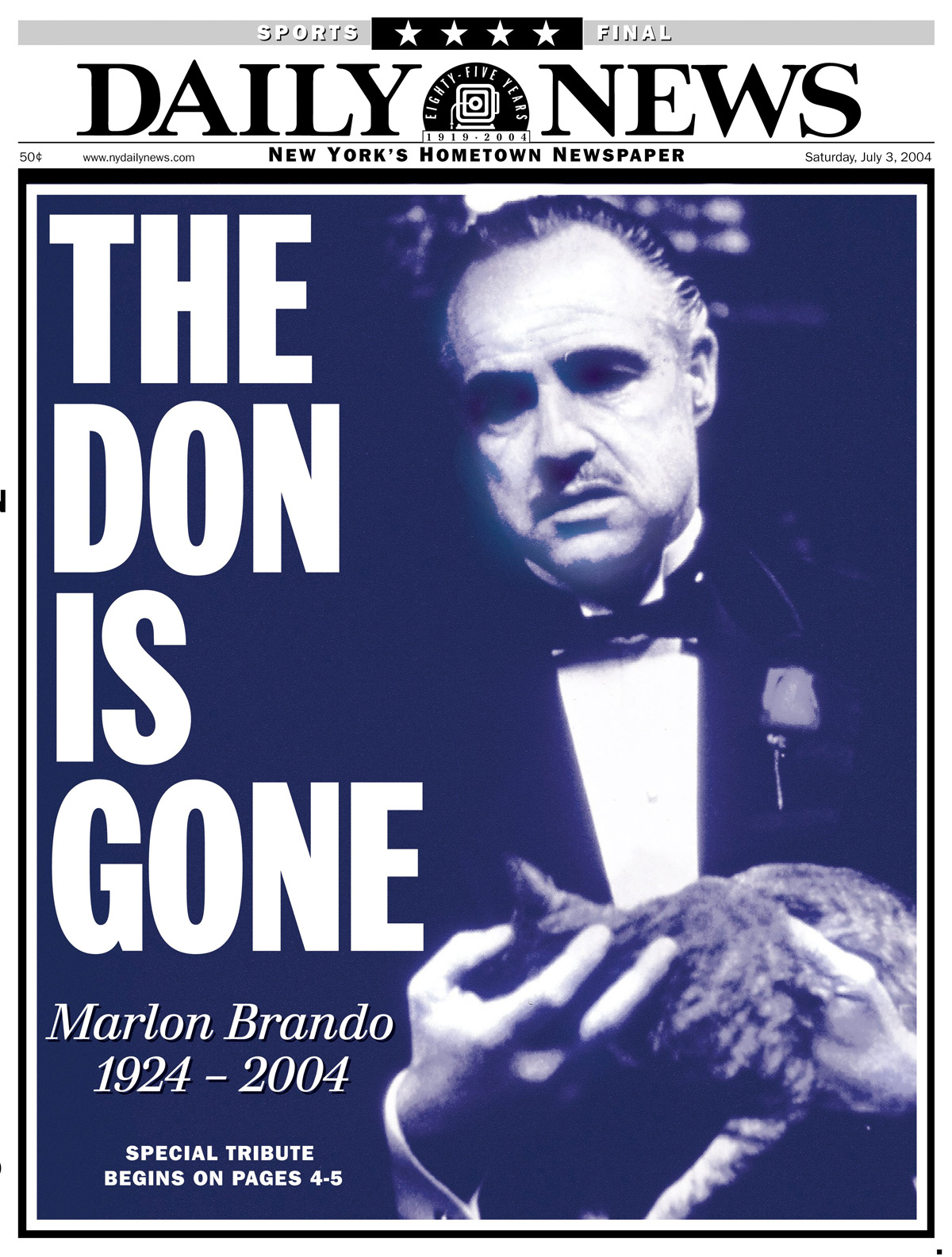 Marlon Brando's impact on the screen is remembered after his death ...