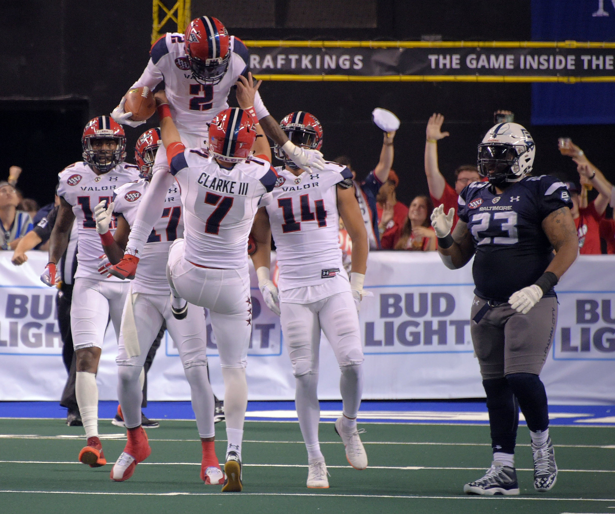 Haunted by ArenaBowl loss, high-powered Baltimore Brigade eager to