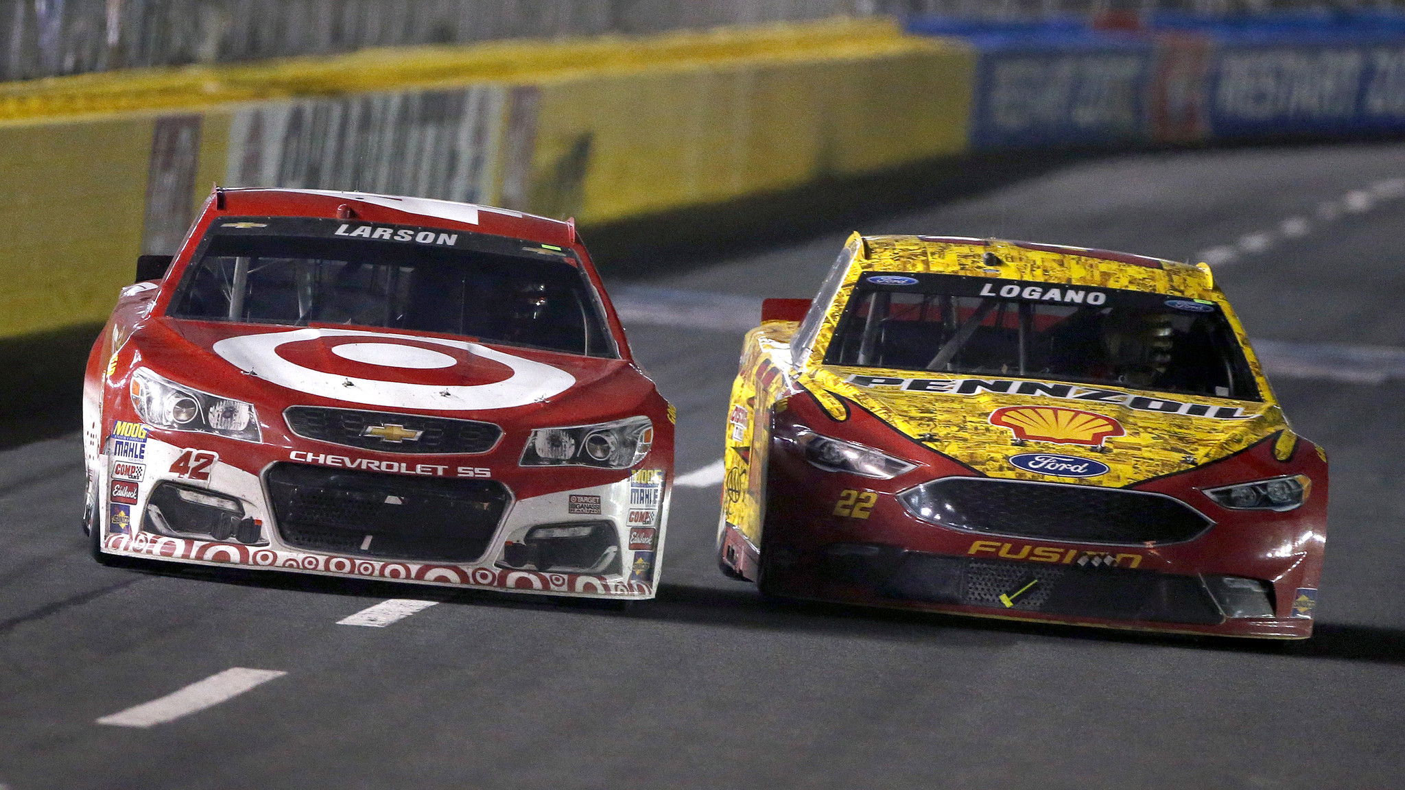 Joey Logano Fends Off Kyle Larson To Win NASCARs All Star Event