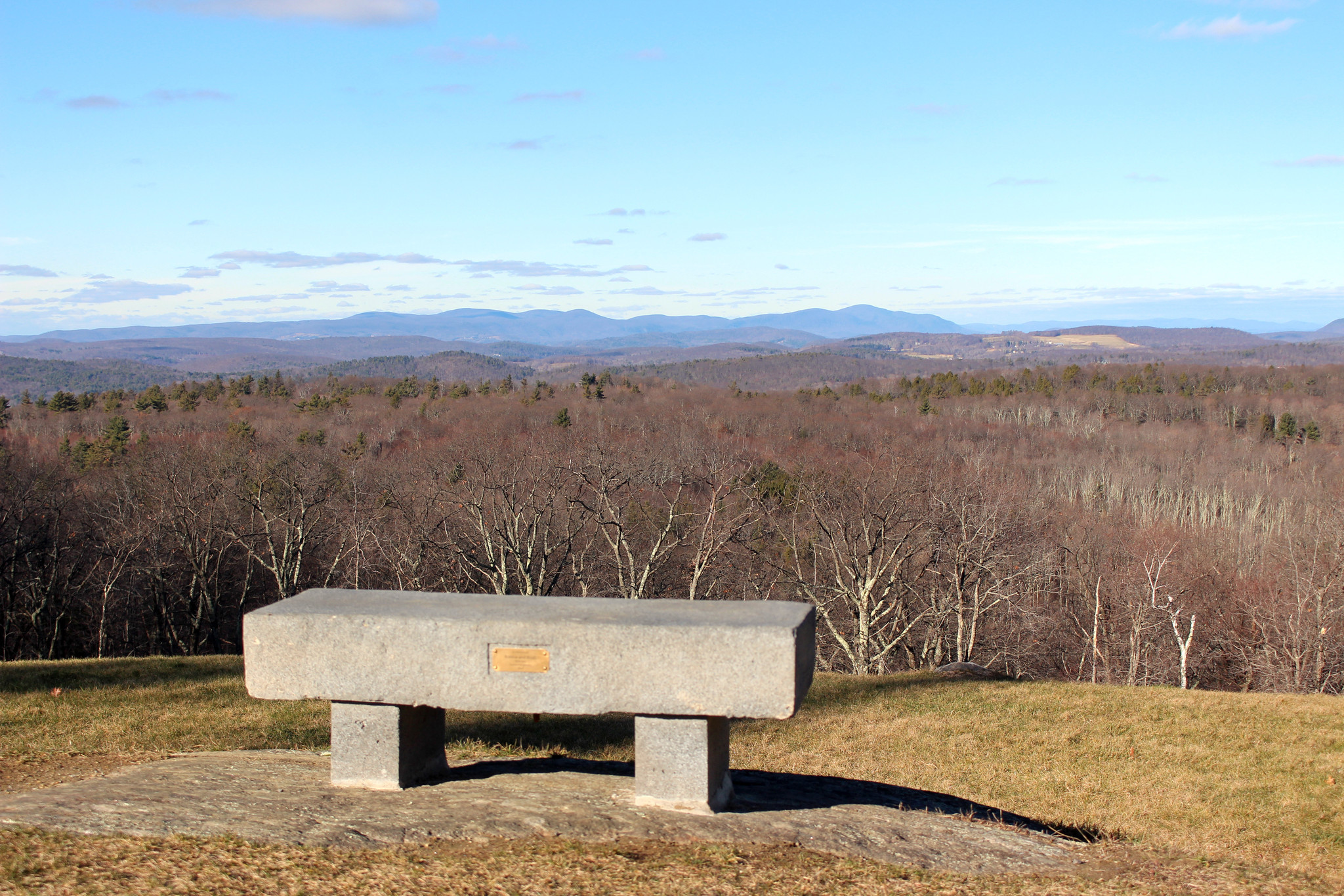 The Ghostly Stone Tower And Stunning Views Of Mohawk Mountain ...