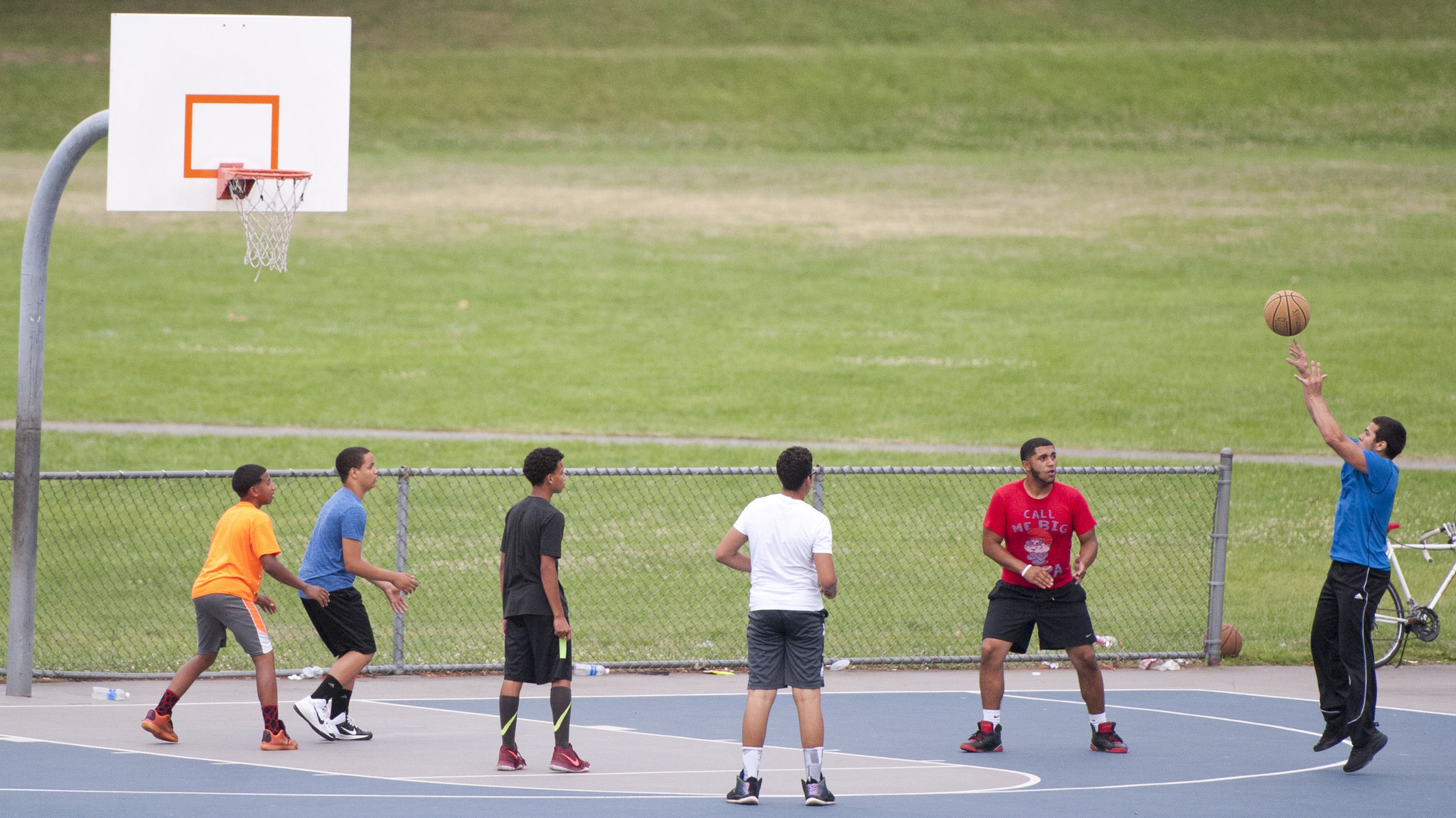 Decision To Close Andre Reed Park Basketball Courts Draws A Whistle The Morning Call