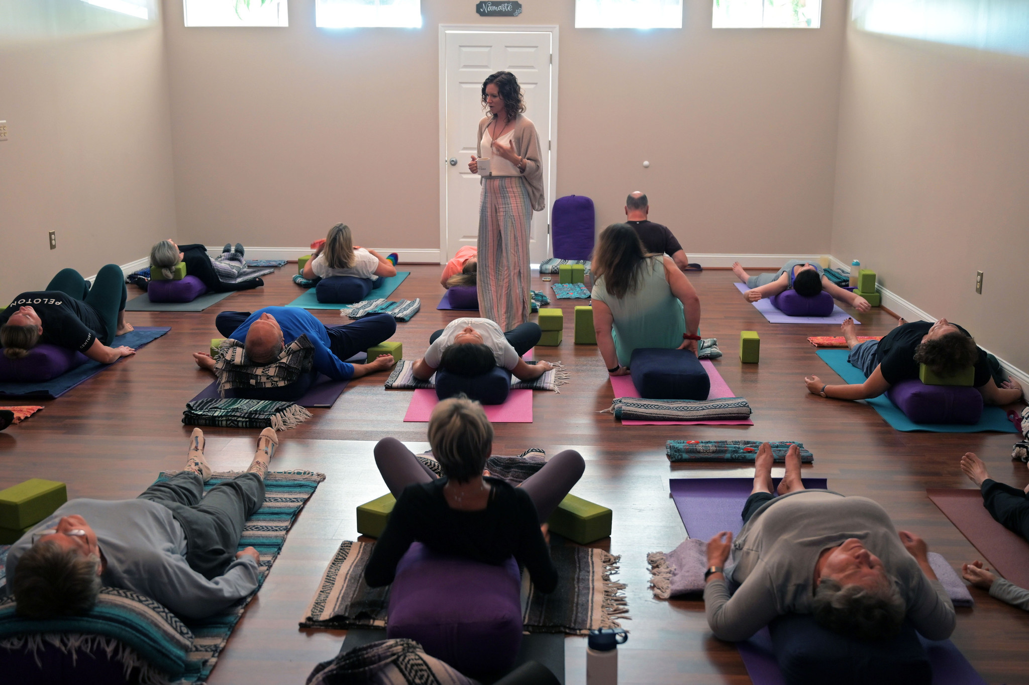 Leave Your Lululemon At Home This Fulton Yoga Studio Shifts Focus From Exercise To Self Care Baltimore Sun