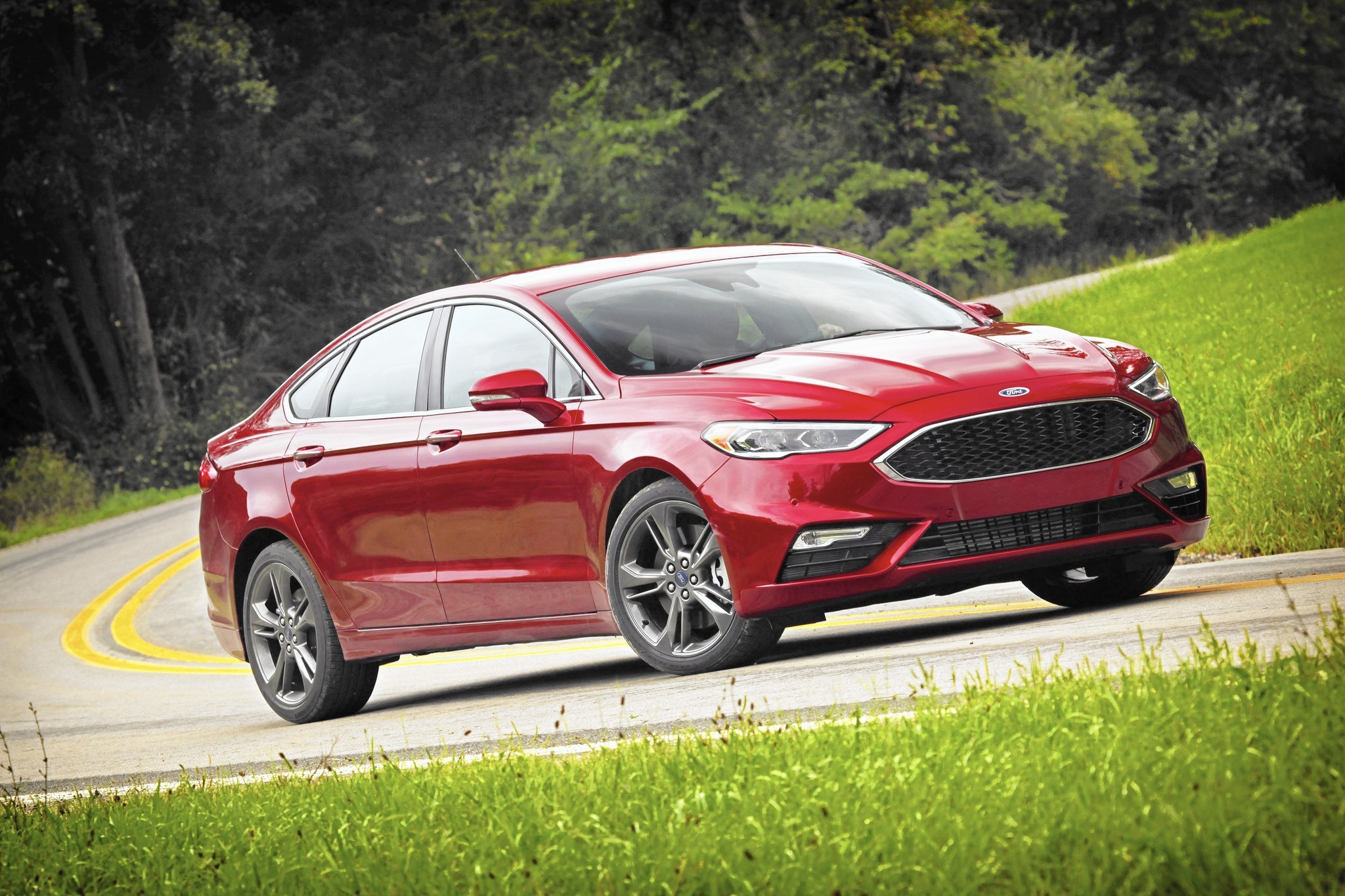 Ford Fusion Sport >> 2017 Ford Fusion Sport Cuts Subtle But Significant Edge In Midsize
