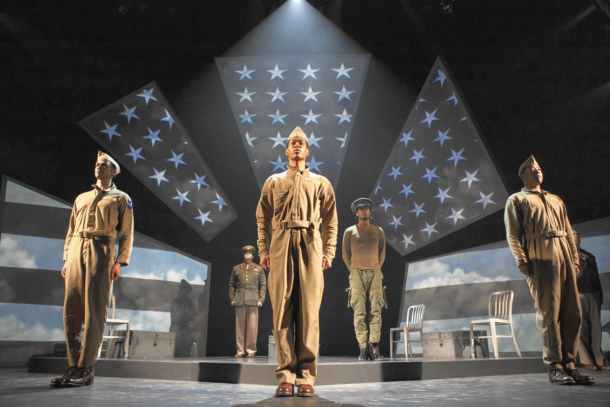 Fly smartly and briskly tells the story of the Tuskegee Airmen at Pasadena Playhouse