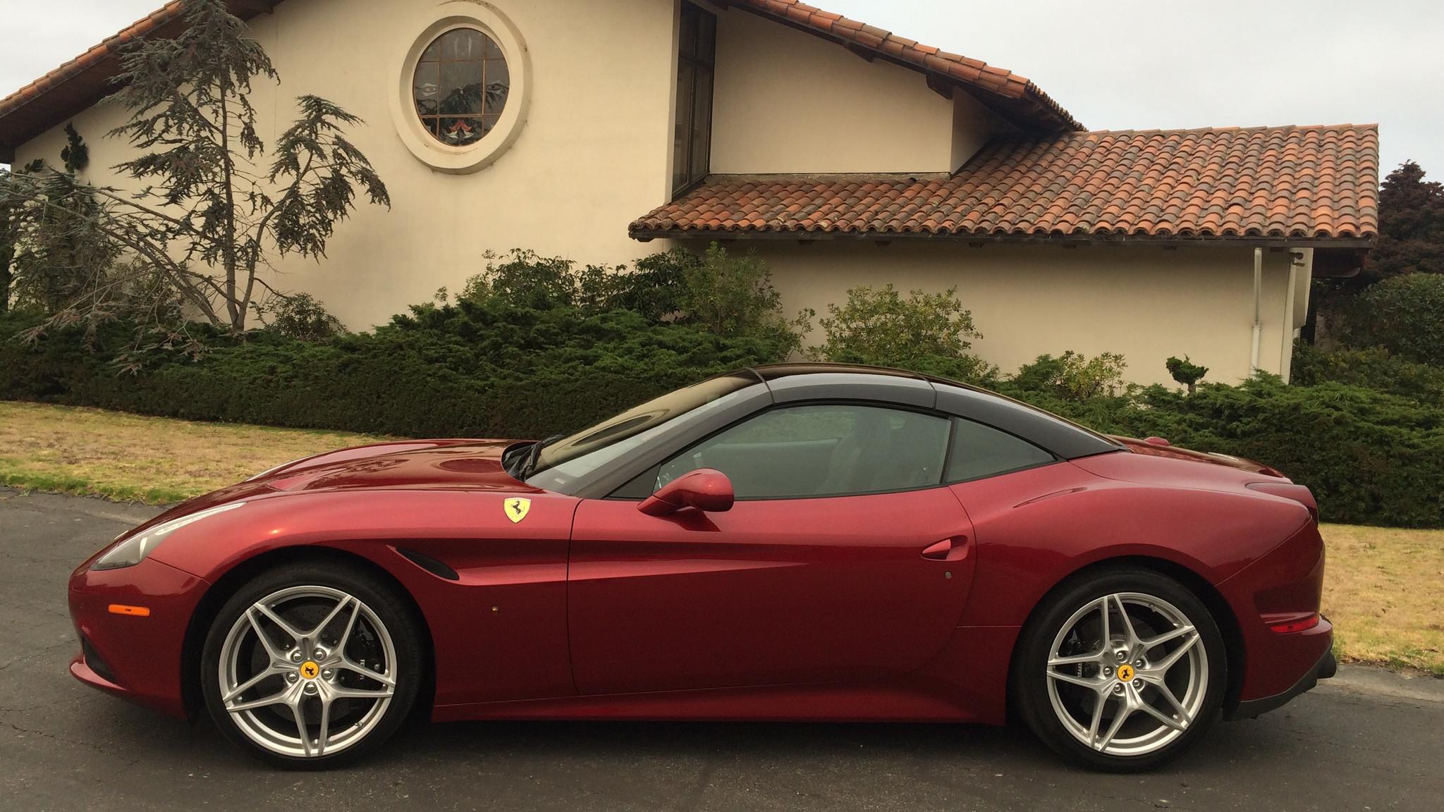 Driving the 2017 Ferrari California T HS