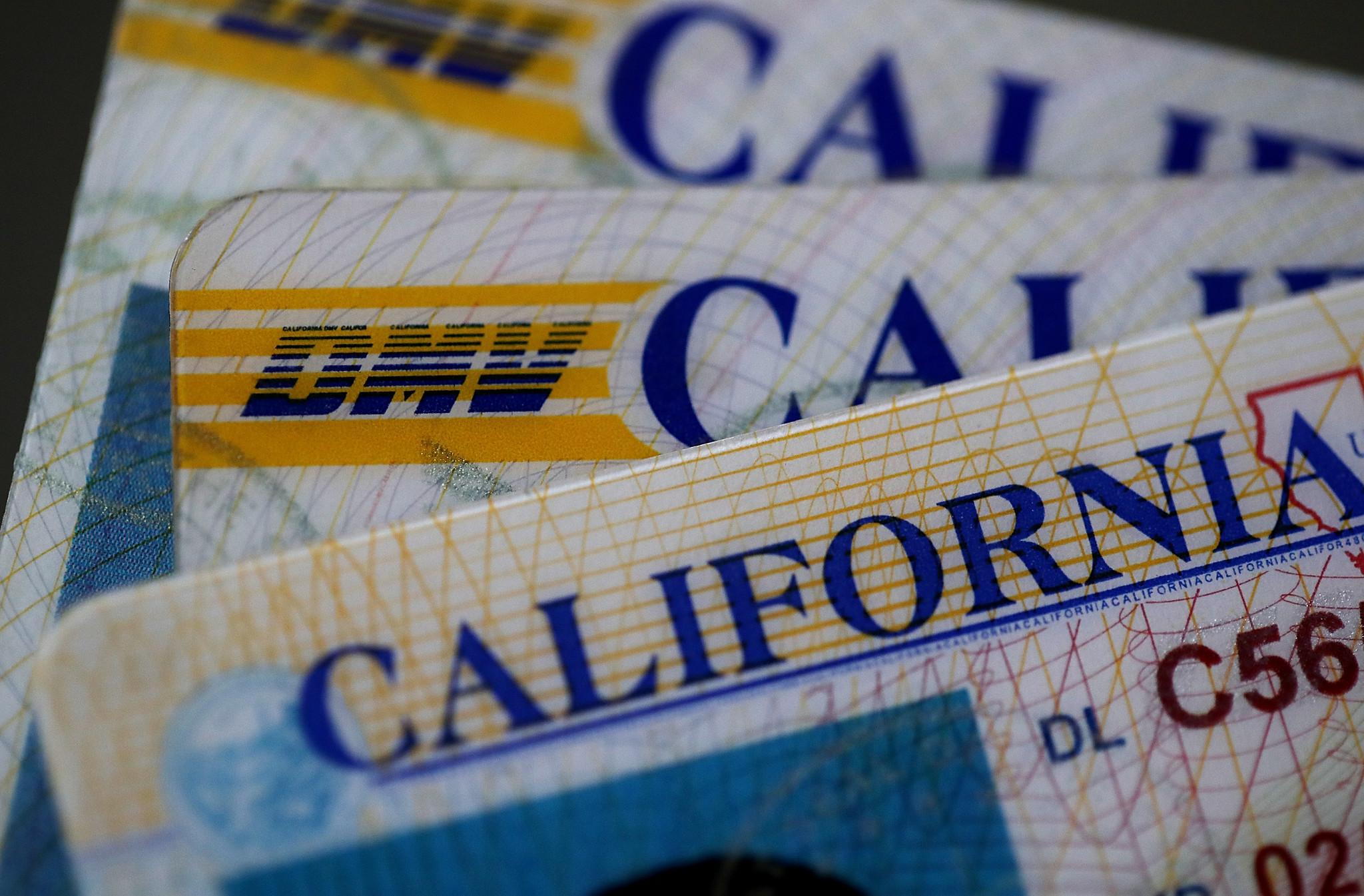 En los próximos años la nueva licencia de conducir de California ...