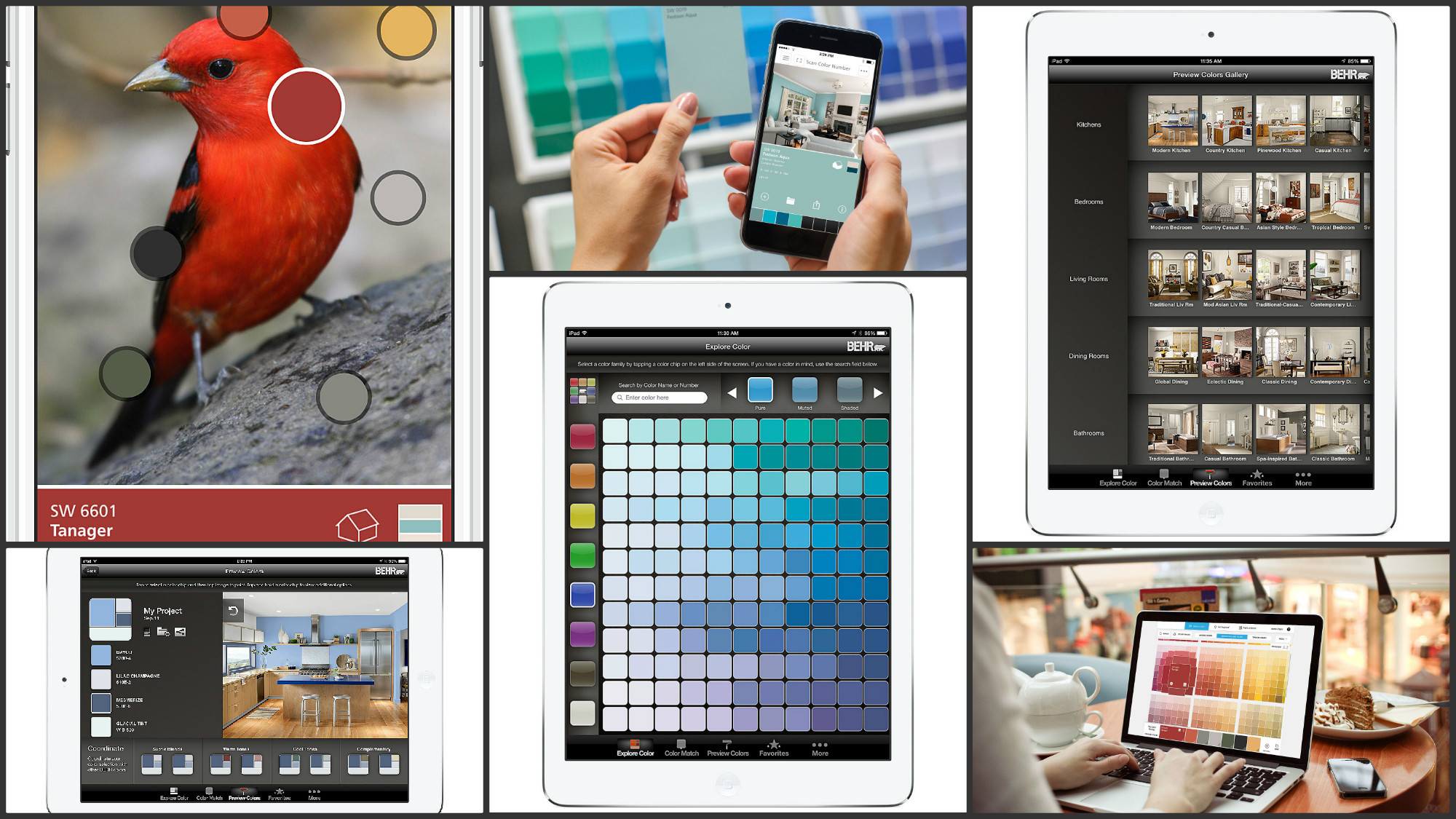 Prepare to be obsessed Apps let you test drive paint colors without