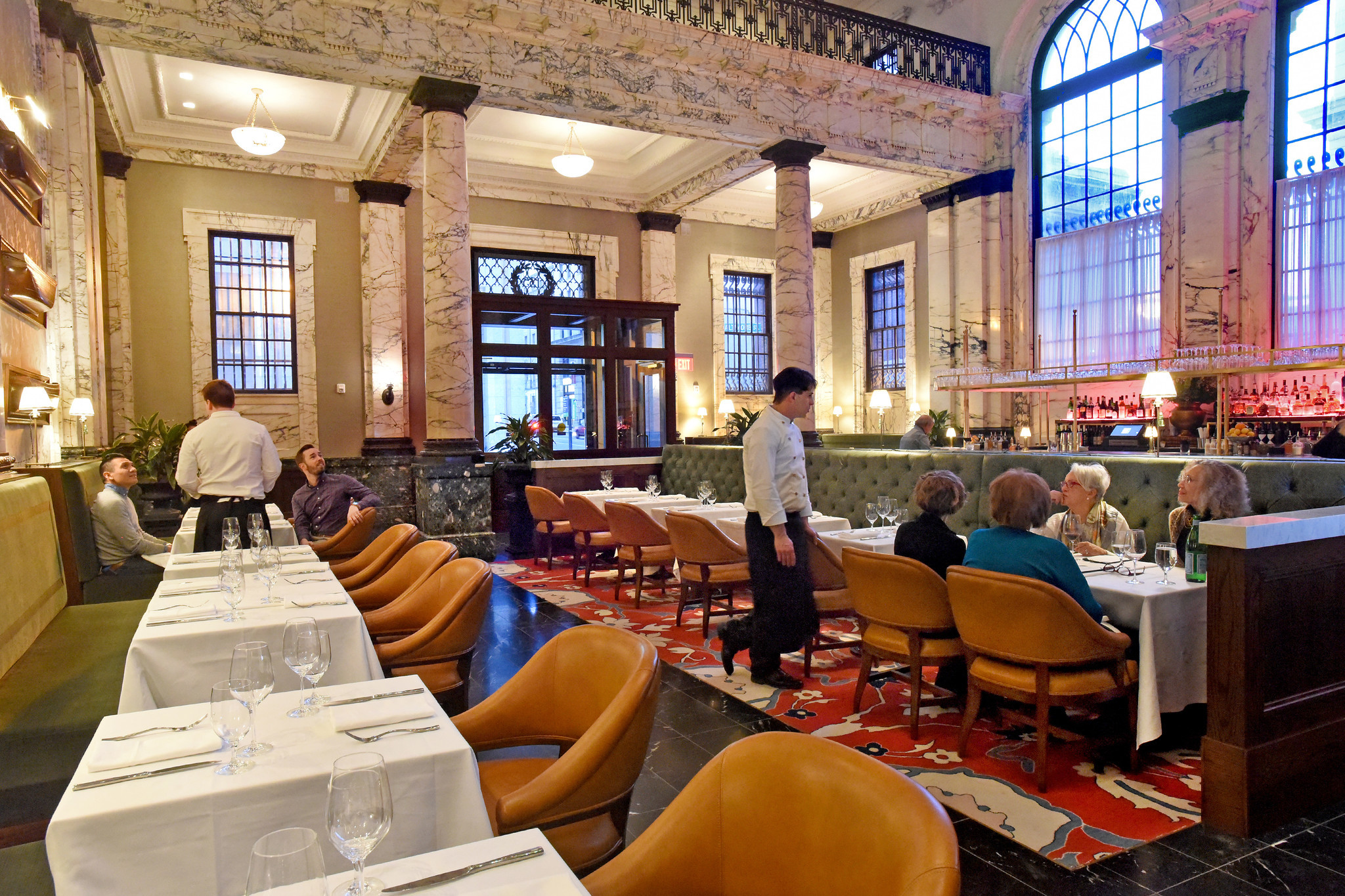 At Alexander Brown Restaurant Pretend To Be A Gilded Age Railroad Tycoon And Enjoy A Good Meal Baltimore Sun